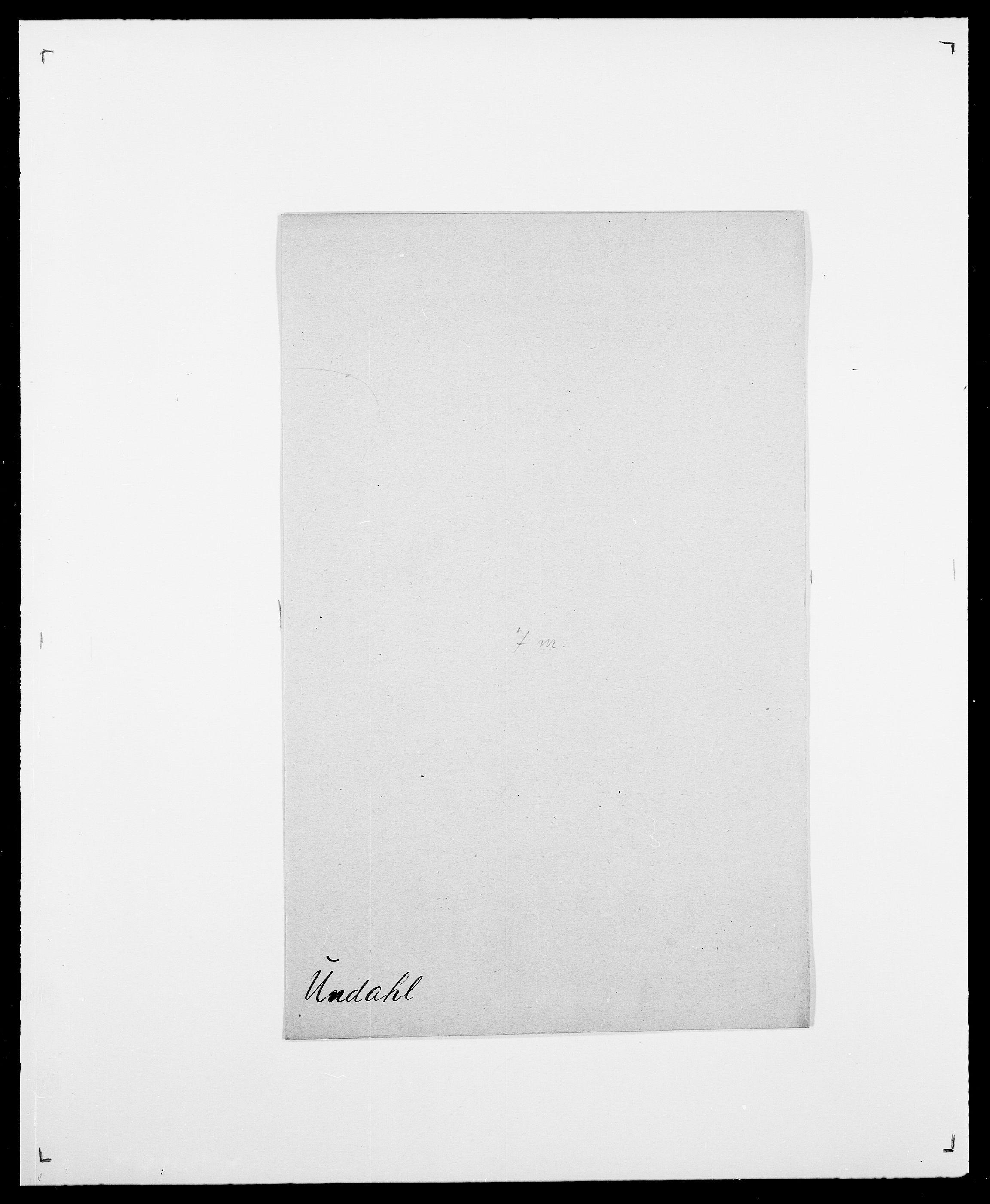 SAO, Delgobe, Charles Antoine - samling, D/Da/L0039: Thorsen - Urup, s. 715