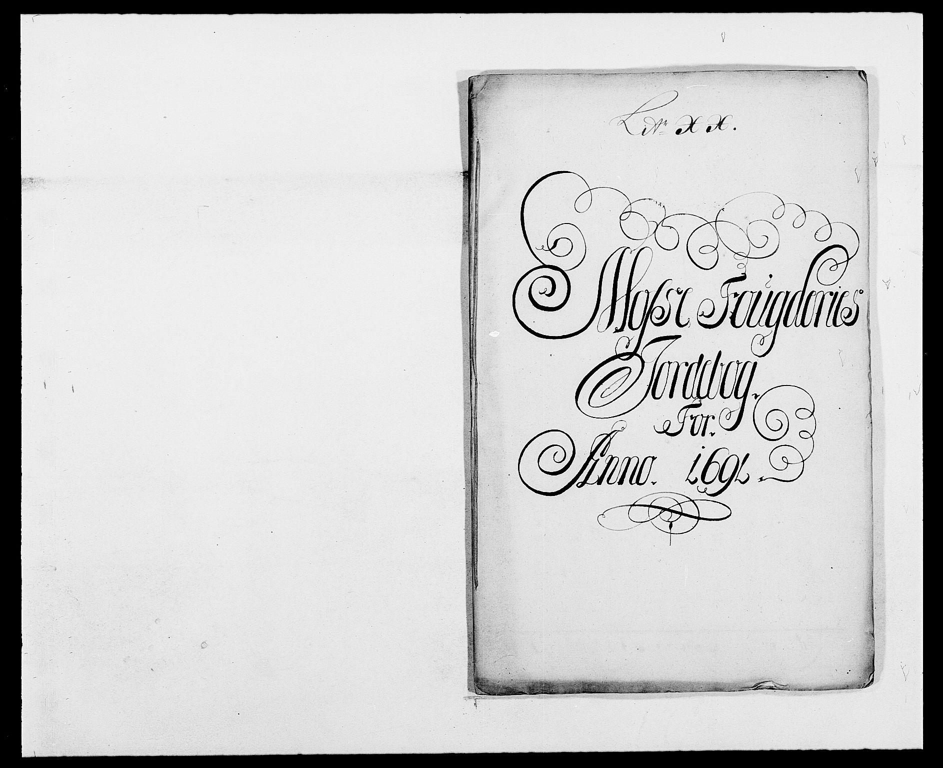 RA, Rentekammeret inntil 1814, Reviderte regnskaper, Fogderegnskap, R02/L0106: Fogderegnskap Moss og Verne kloster, 1688-1691, s. 440