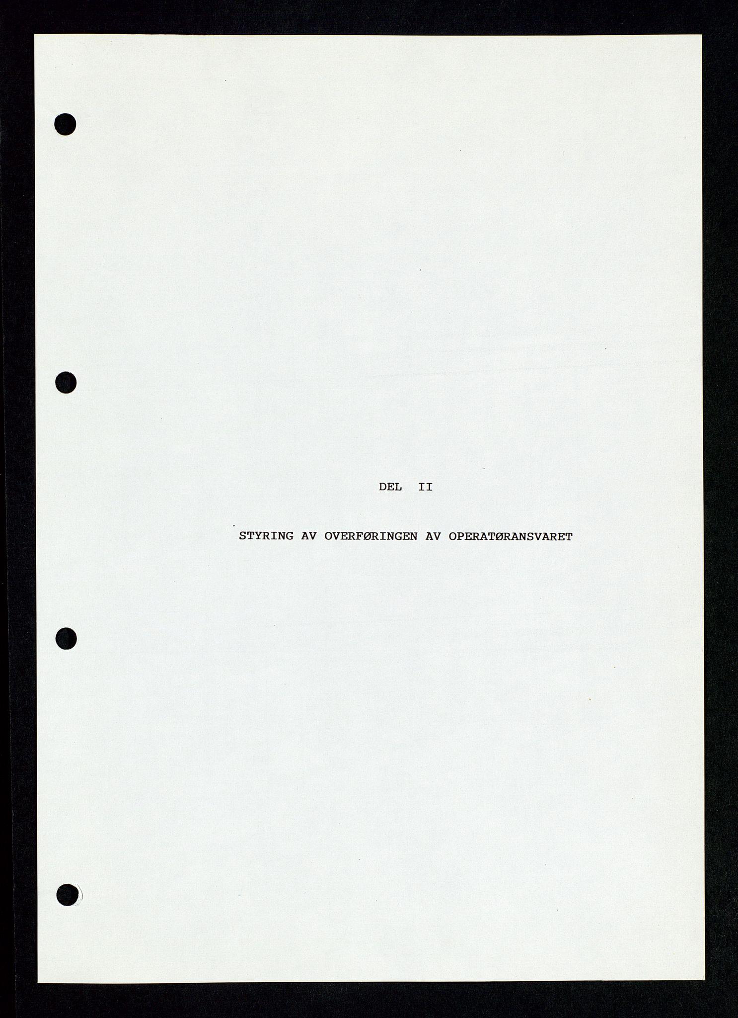 SAST, Pa 1339 - Statoil ASA, D/Dm/L0123: Rapporter, 1985-1988, s. 15