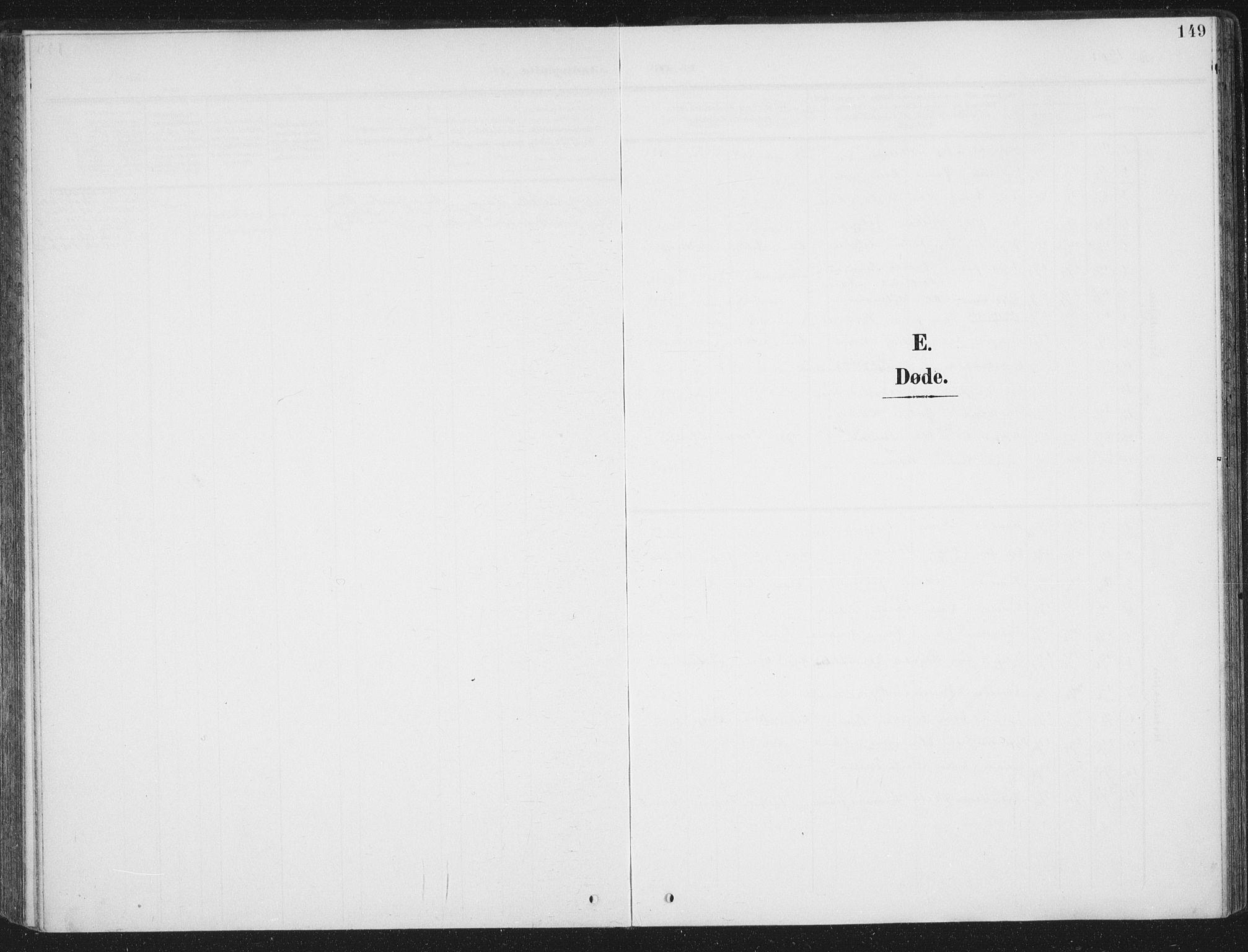 SAT, Ministerialprotokoller, klokkerbøker og fødselsregistre - Sør-Trøndelag, 657/L0709: Ministerialbok nr. 657A10, 1905-1919, s. 149