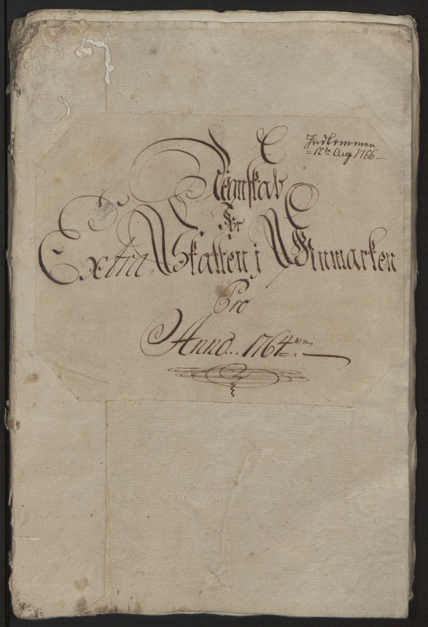RA, Rentekammeret inntil 1814, Reviderte regnskaper, Fogderegnskap, R69/L4910: Ekstraskatten  Finnmark/Vardøhus, 1762-1772, s. 74