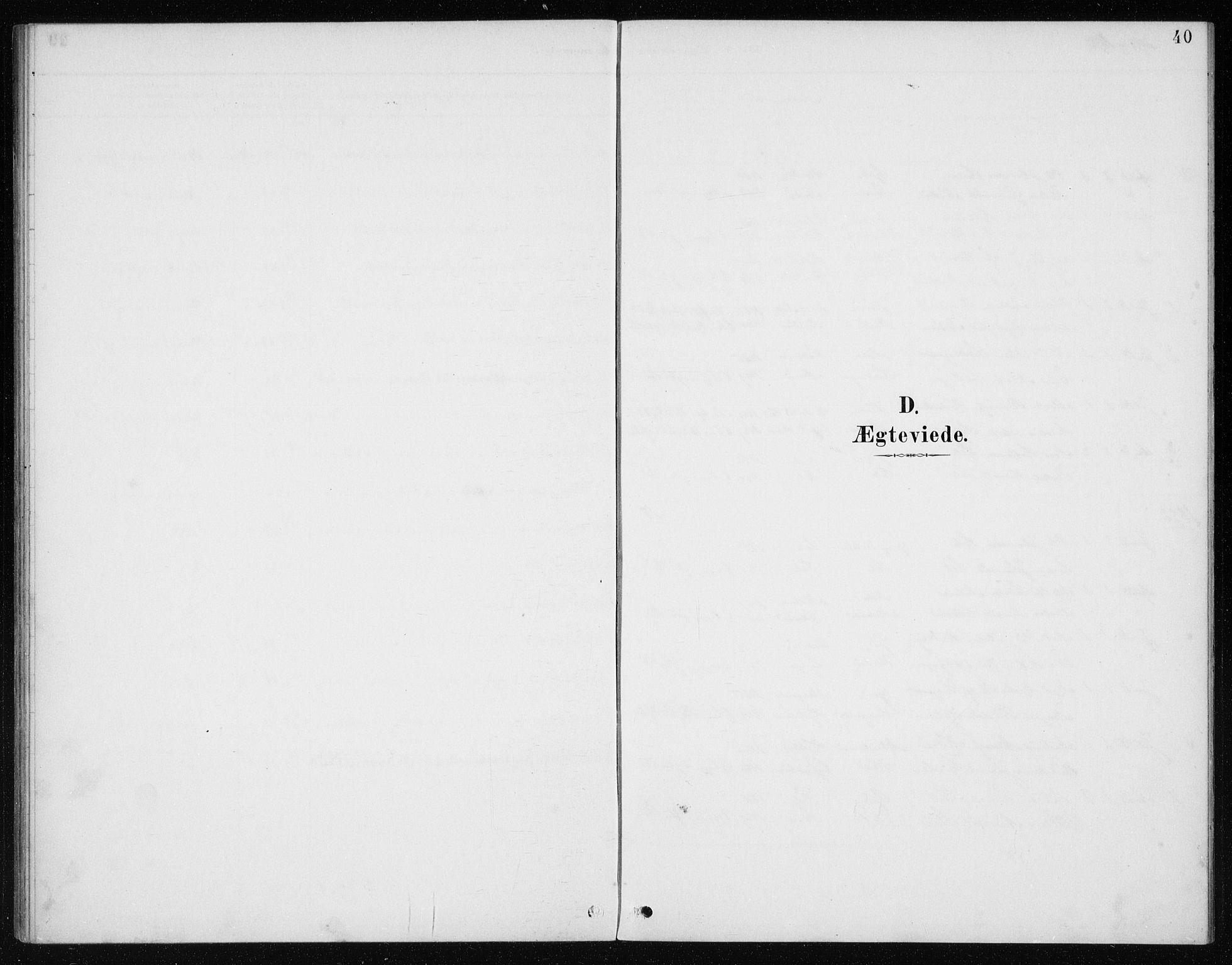 SAB, Manger sokneprestembete, H/Haa: Ministerialbok nr. E  2, 1891-1902, s. 40