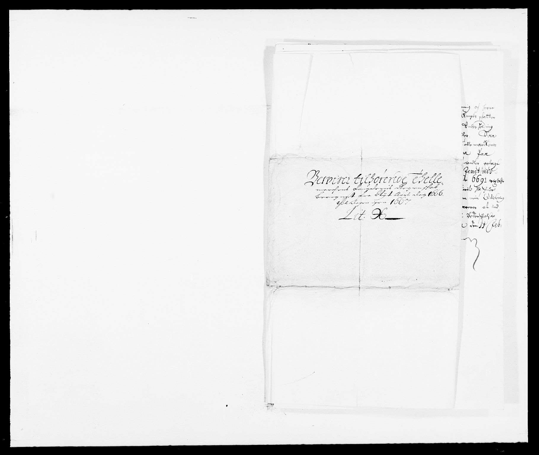 RA, Rentekammeret inntil 1814, Reviderte regnskaper, Fogderegnskap, R35/L2057: Fogderegnskap Øvre og Nedre Telemark, 1666-1667, s. 274