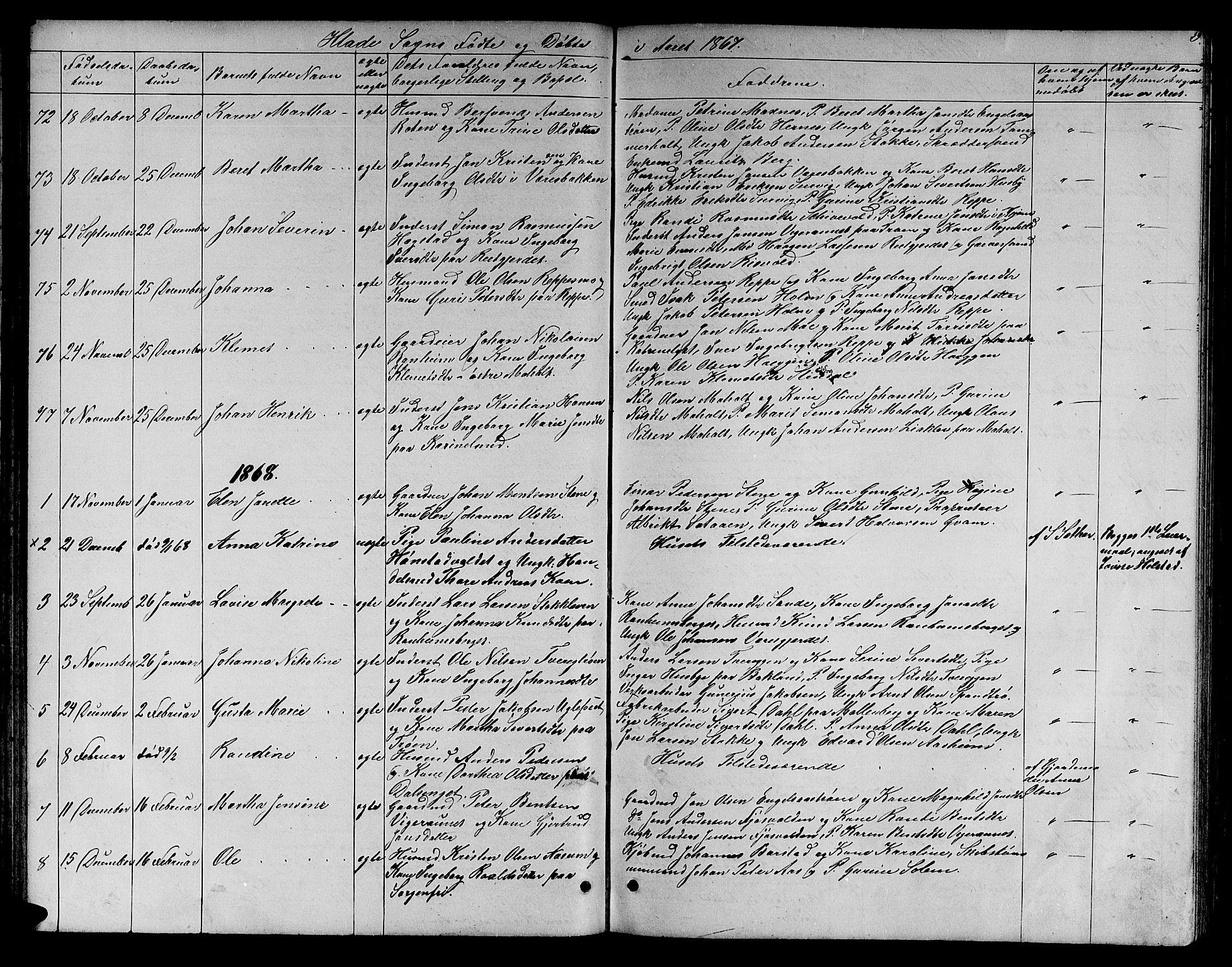 SAT, Ministerialprotokoller, klokkerbøker og fødselsregistre - Sør-Trøndelag, 606/L0311: Klokkerbok nr. 606C07, 1860-1877, s. 59
