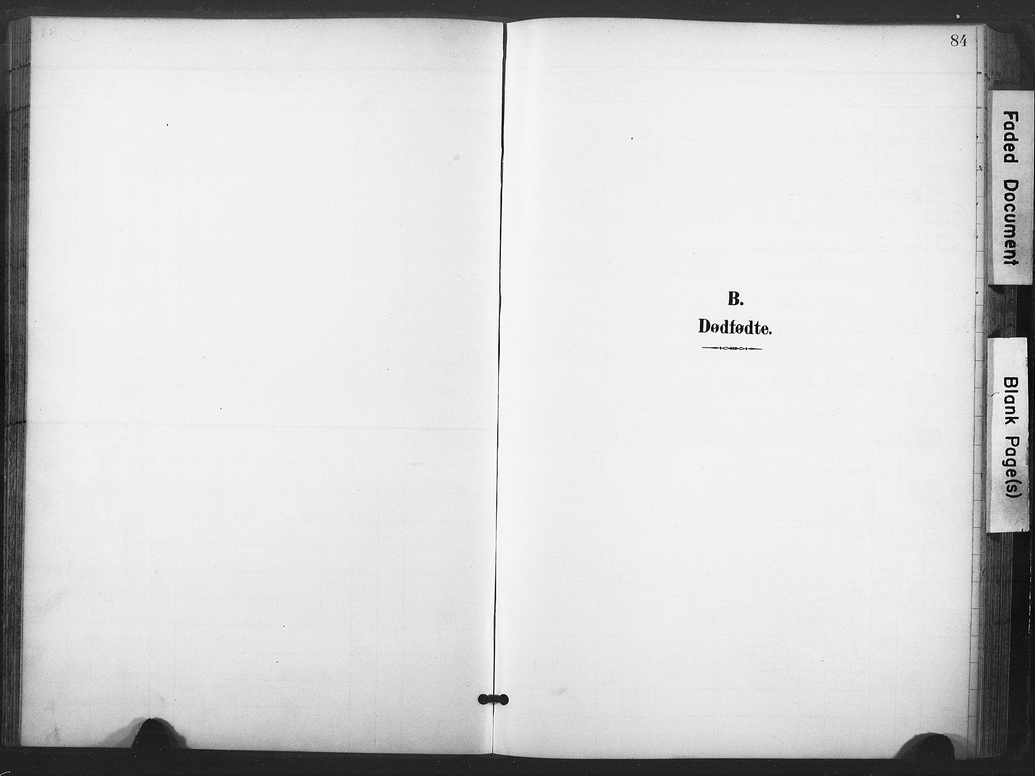 SAT, Ministerialprotokoller, klokkerbøker og fødselsregistre - Nord-Trøndelag, 713/L0122: Ministerialbok nr. 713A11, 1899-1910, s. 84