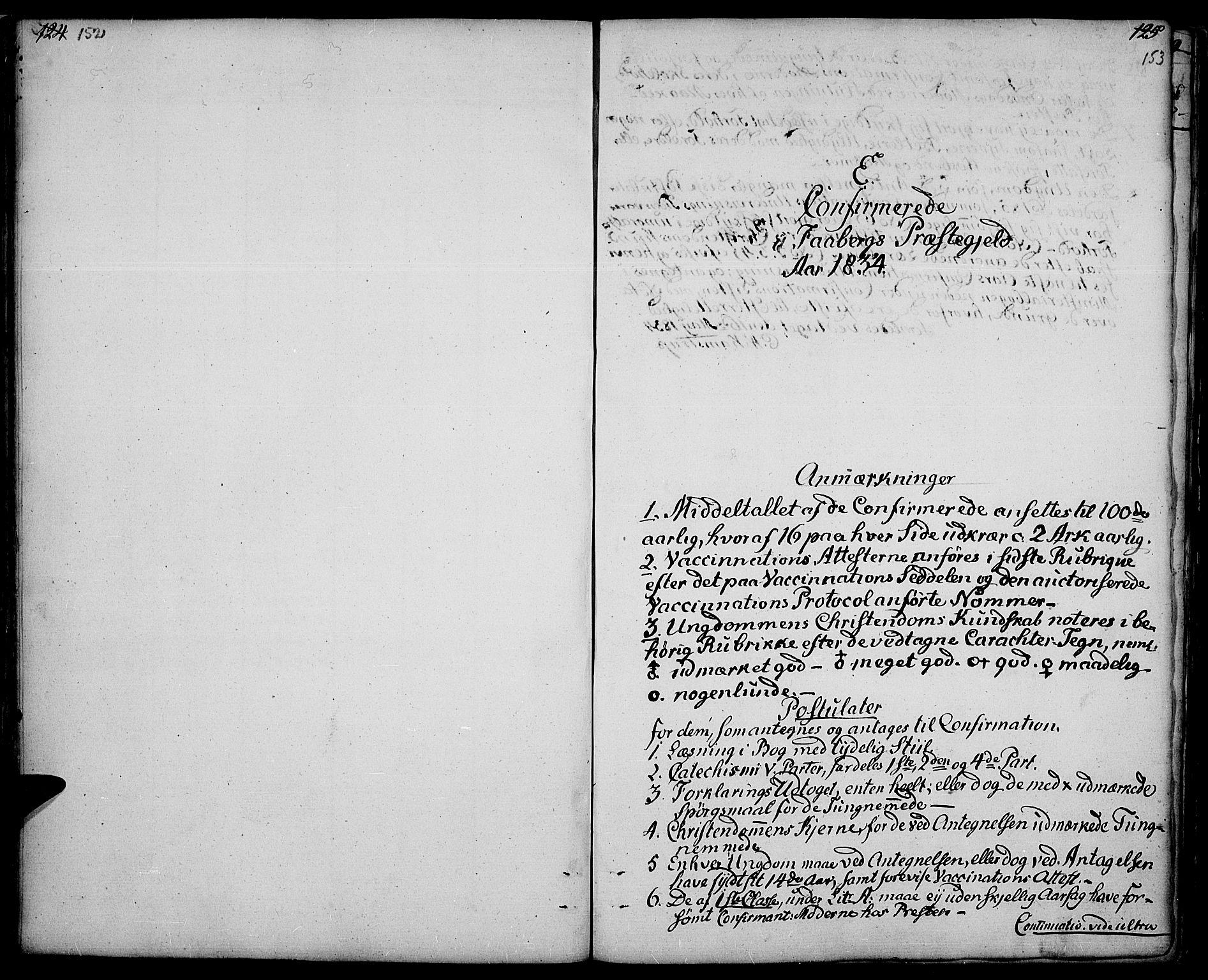 SAH, Fåberg prestekontor, Ministerialbok nr. 4, 1833-1837, s. 152-153