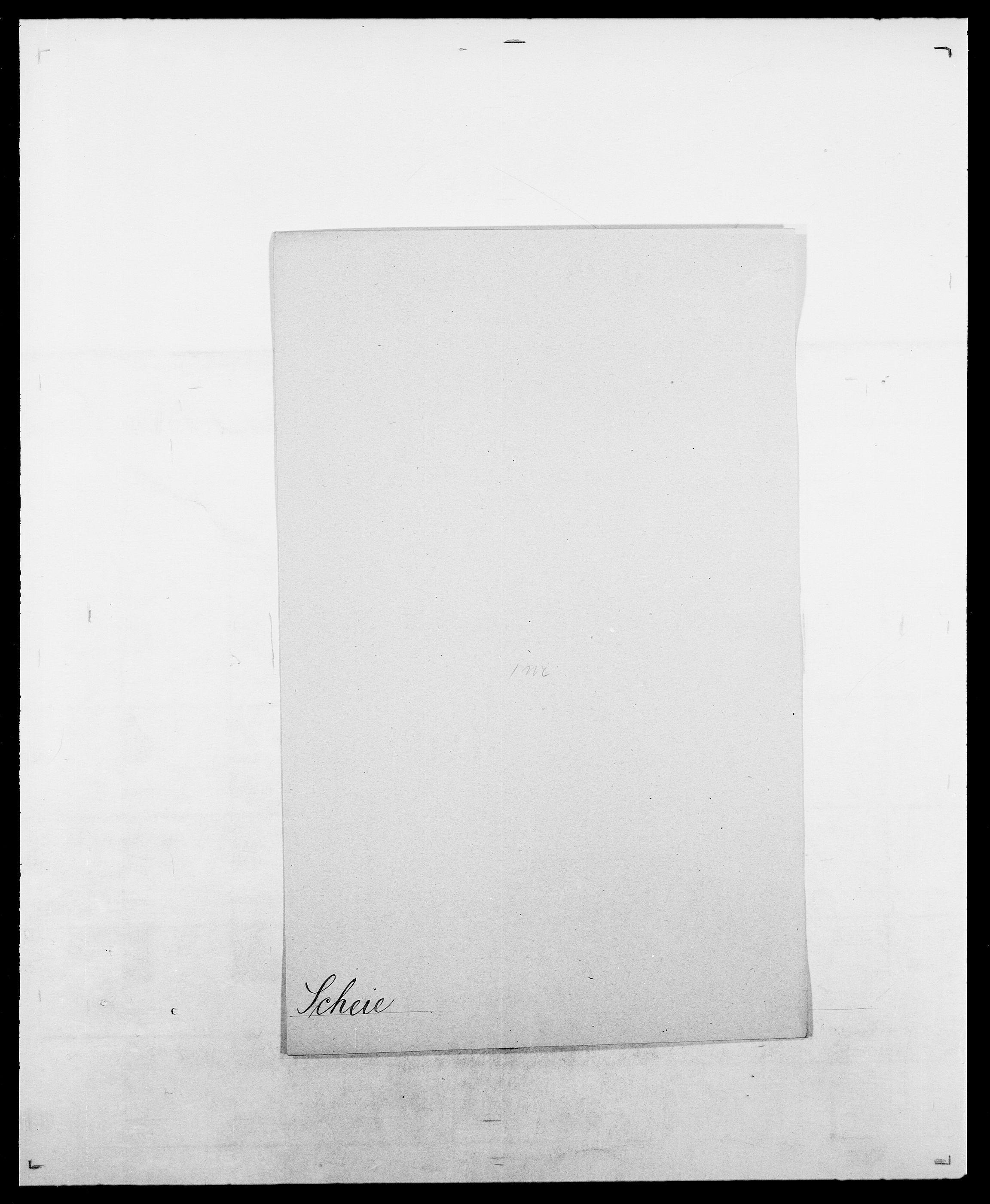 SAO, Delgobe, Charles Antoine - samling, D/Da/L0034: Saabye - Schmincke, s. 464