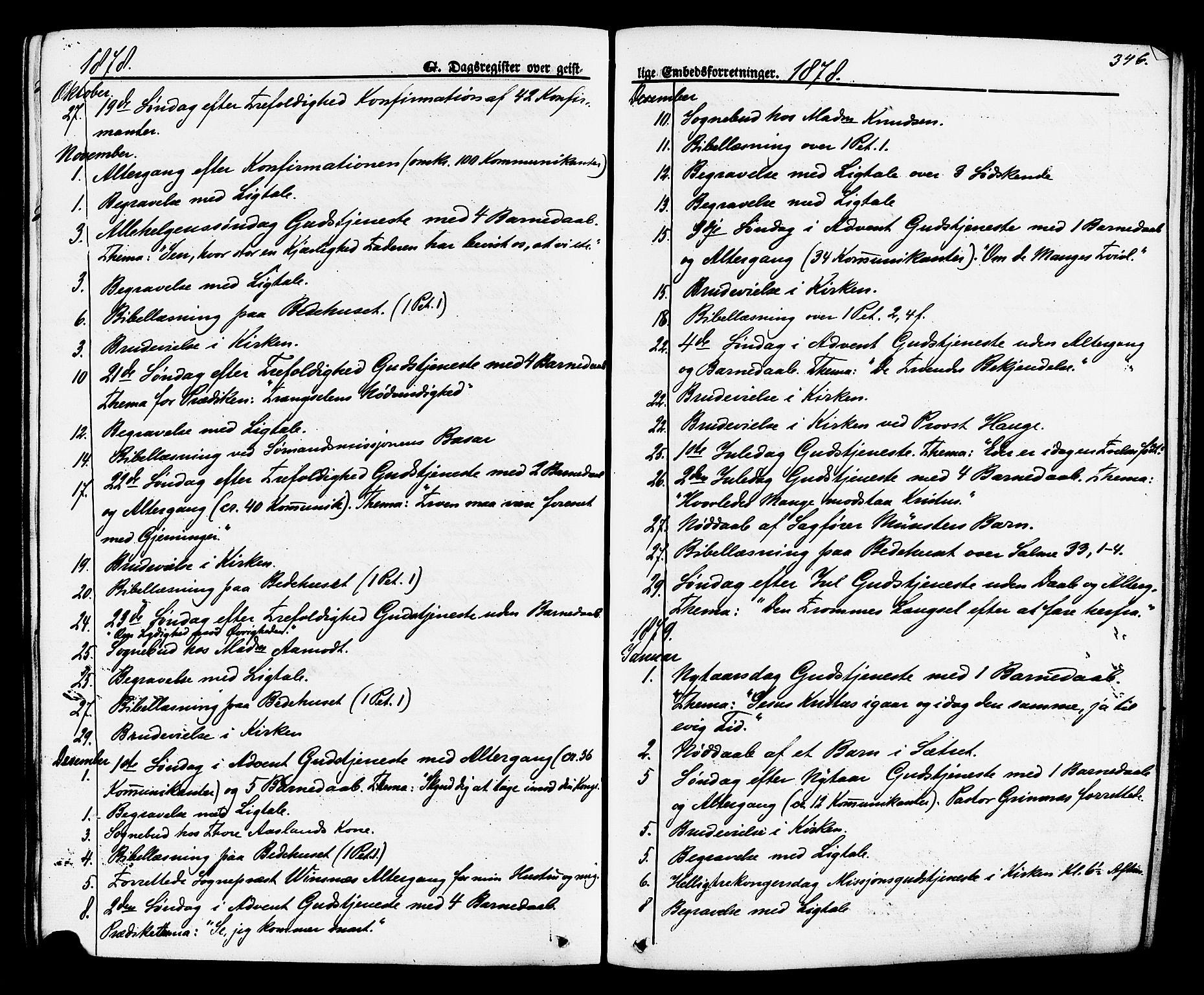 SAKO, Brevik kirkebøker, F/Fa/L0006: Ministerialbok nr. 6, 1866-1881, s. 346