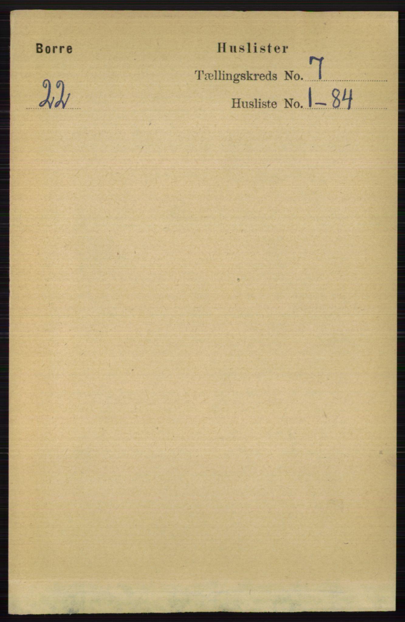 RA, Folketelling 1891 for 0717 Borre herred, 1891, s. 3136