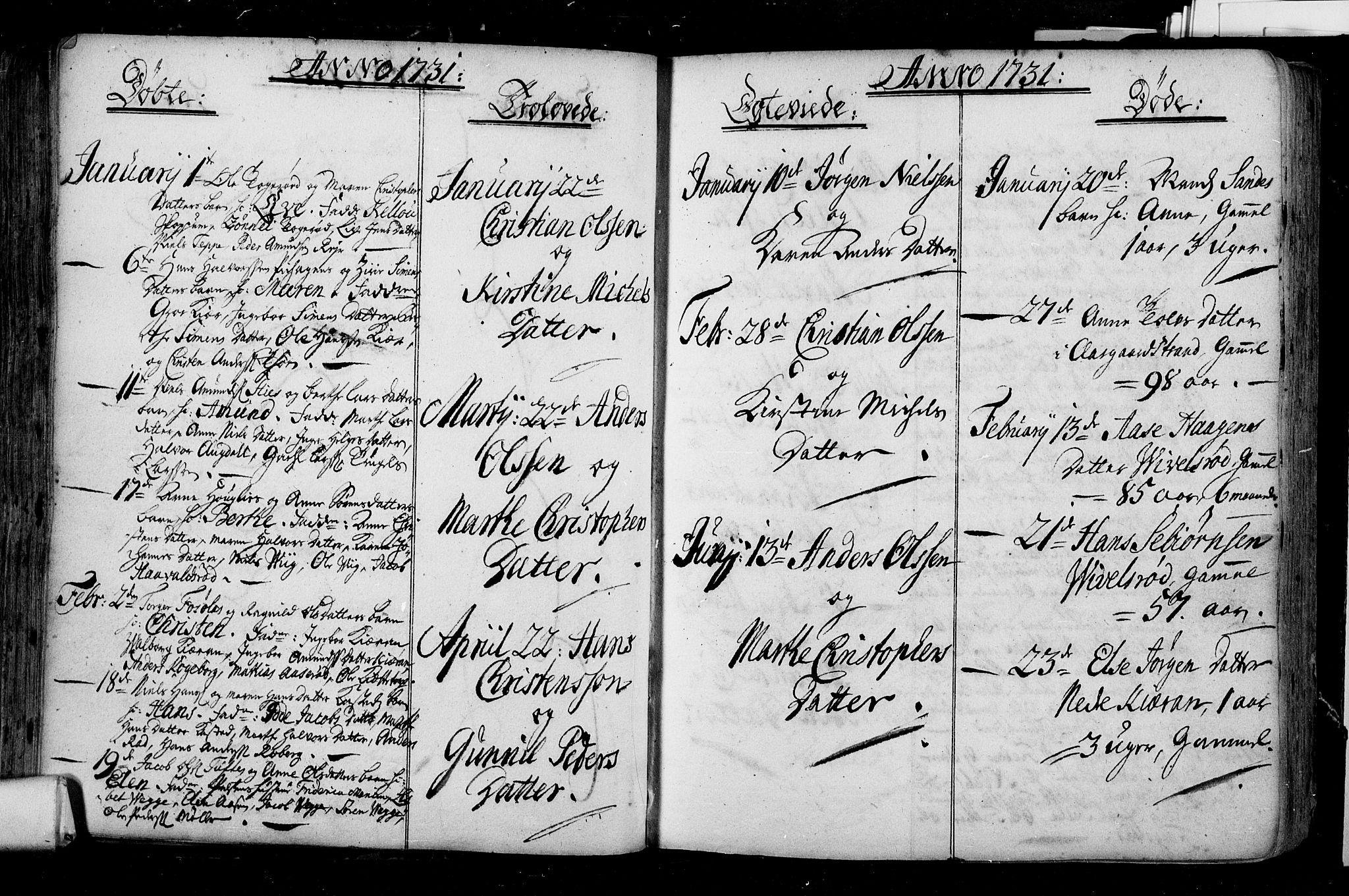 SAKO, Borre kirkebøker, F/Fa/L0001: Ministerialbok nr. I 1, 1710-1750, s. 49