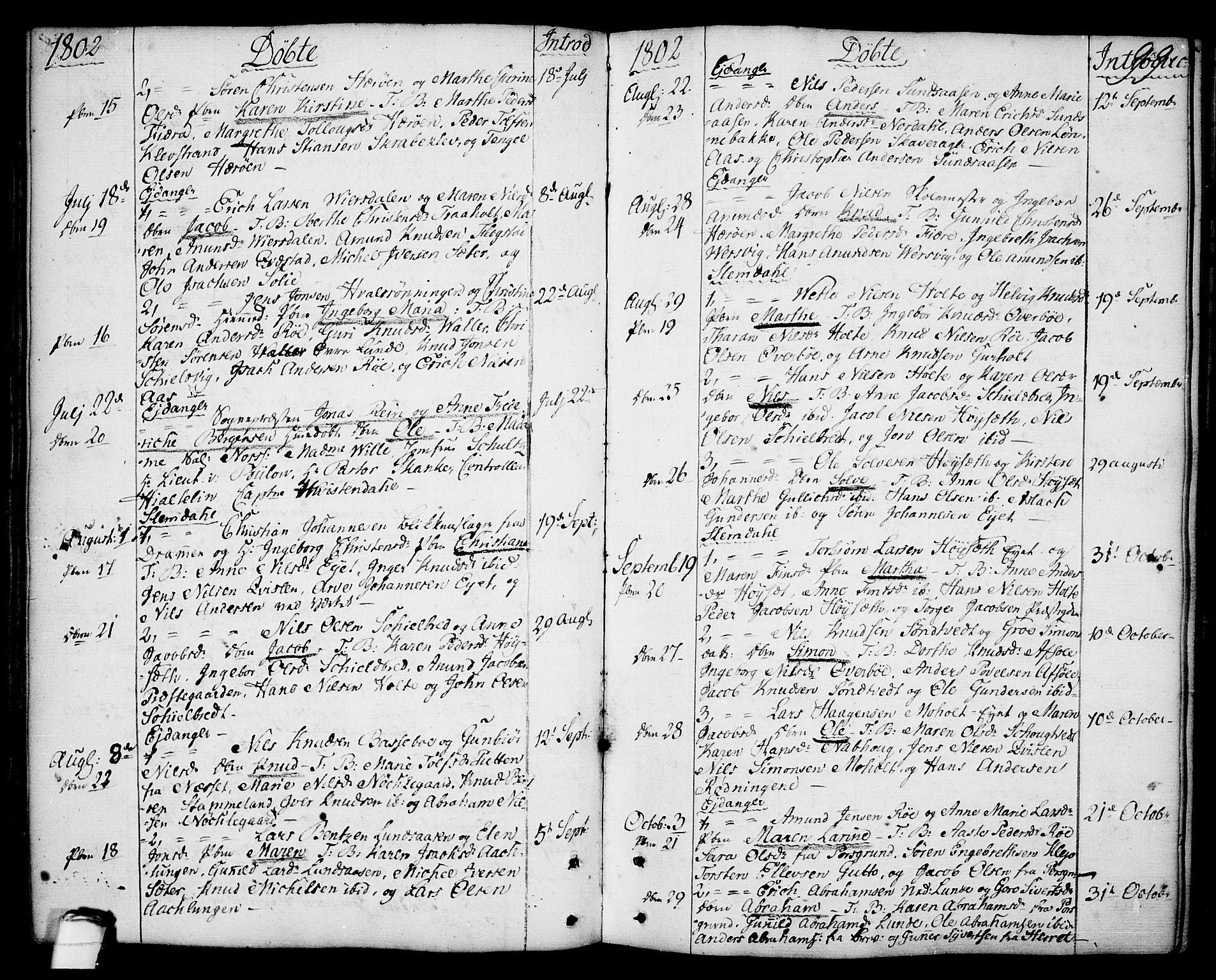 SAKO, Eidanger kirkebøker, F/Fa/L0006: Ministerialbok nr. 6, 1764-1814, s. 99
