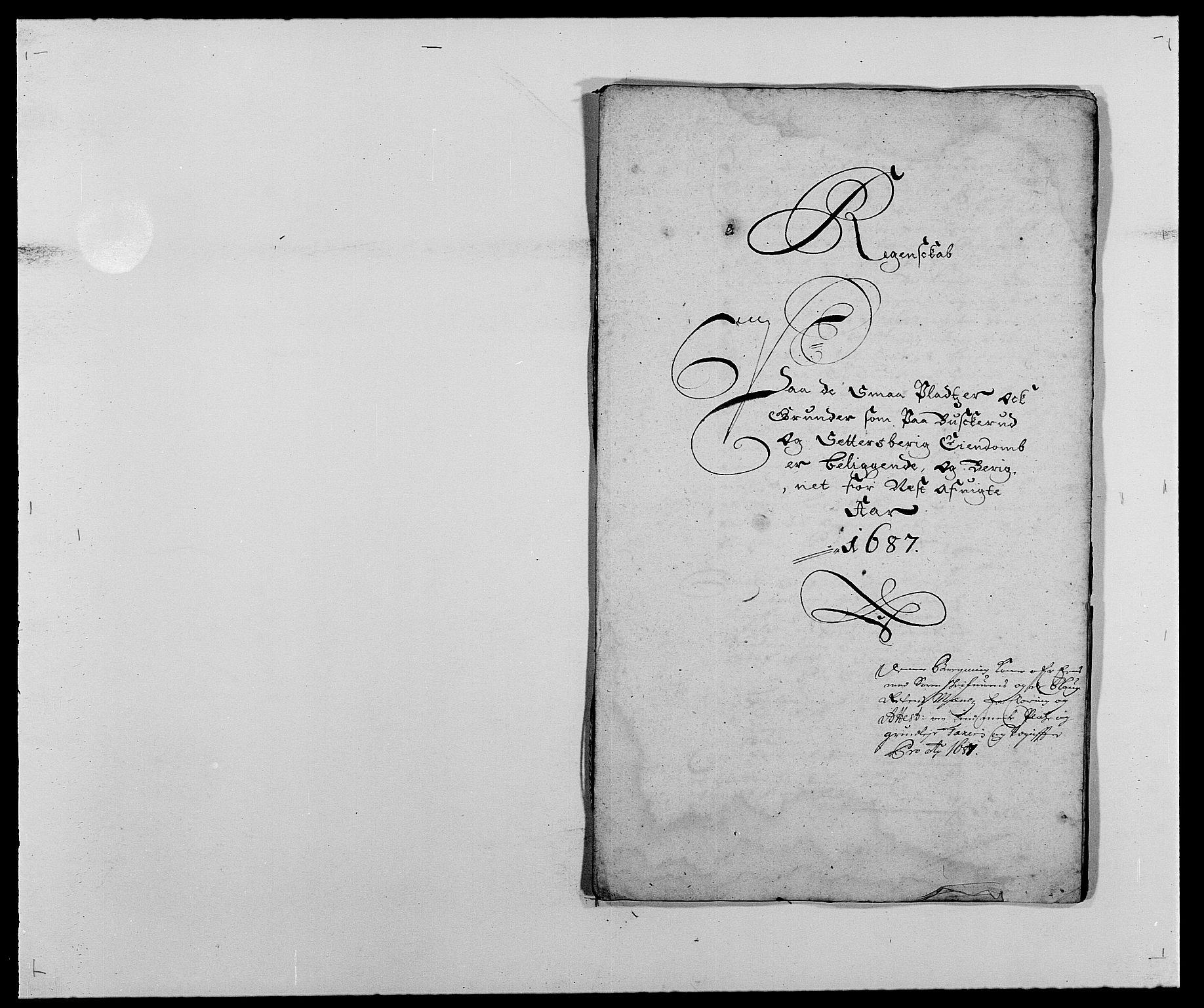 RA, Rentekammeret inntil 1814, Reviderte regnskaper, Fogderegnskap, R25/L1679: Fogderegnskap Buskerud, 1687-1688, s. 518