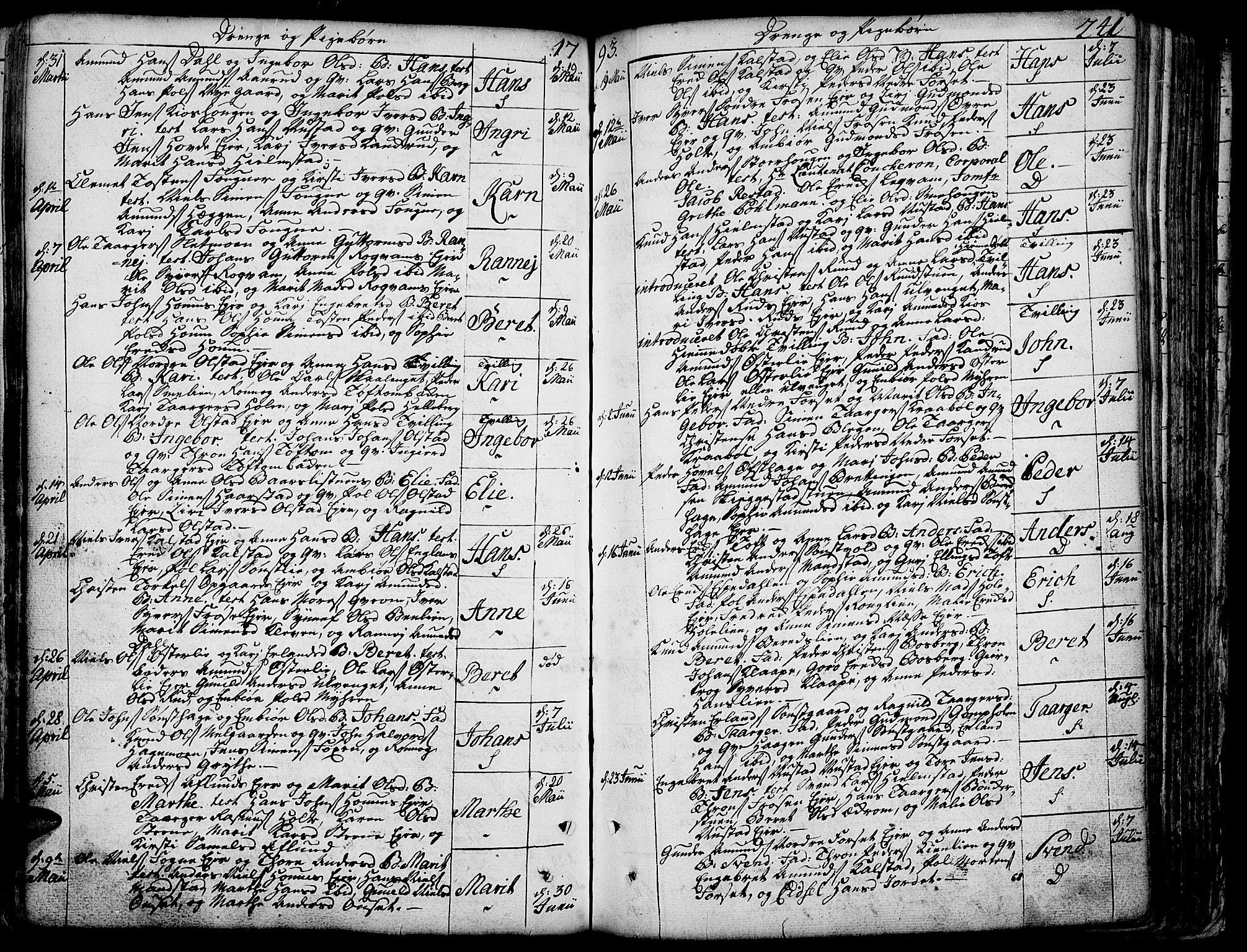 SAH, Gausdal prestekontor, Ministerialbok nr. 3, 1758-1809, s. 241