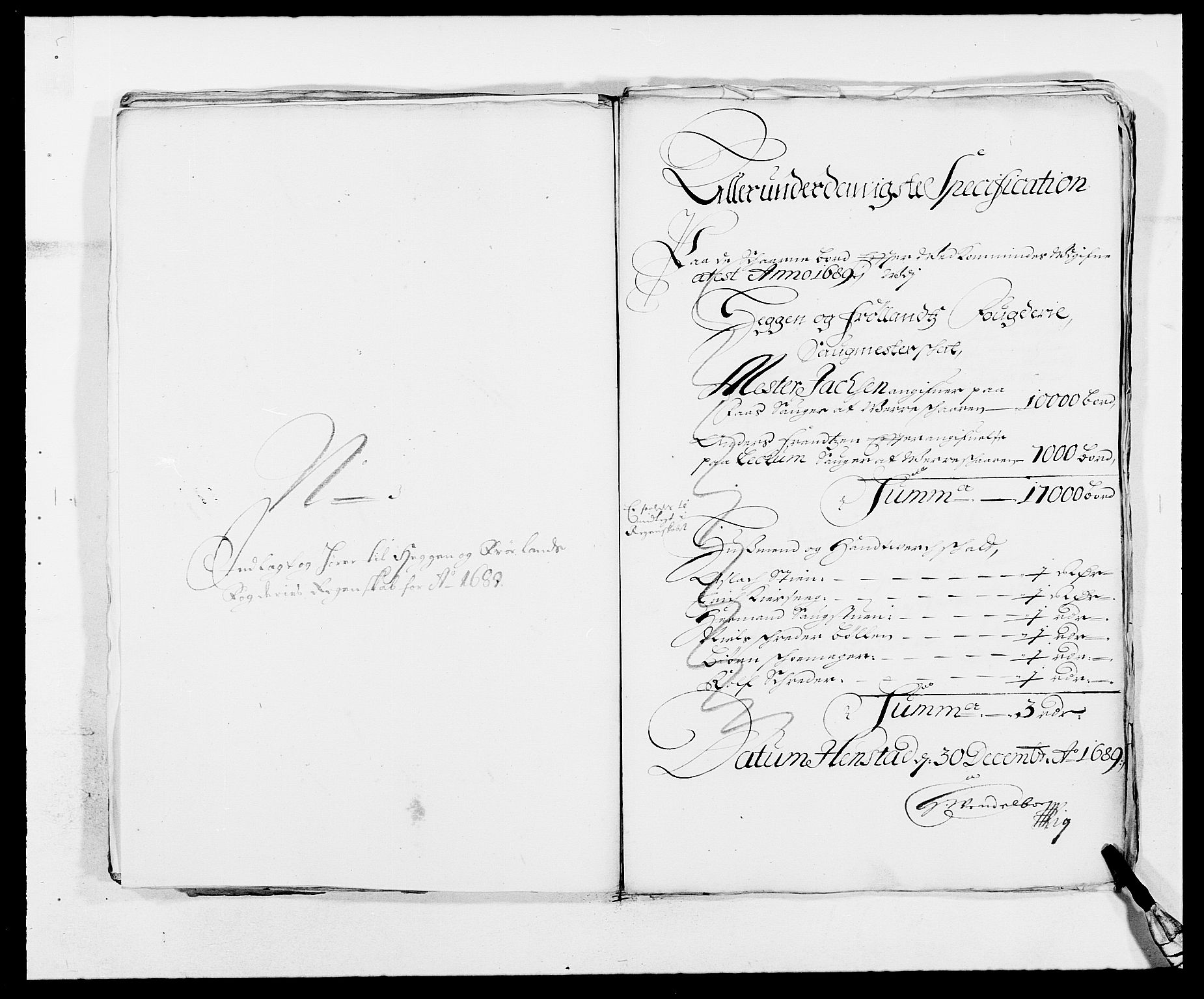RA, Rentekammeret inntil 1814, Reviderte regnskaper, Fogderegnskap, R06/L0282: Fogderegnskap Heggen og Frøland, 1687-1690, s. 151