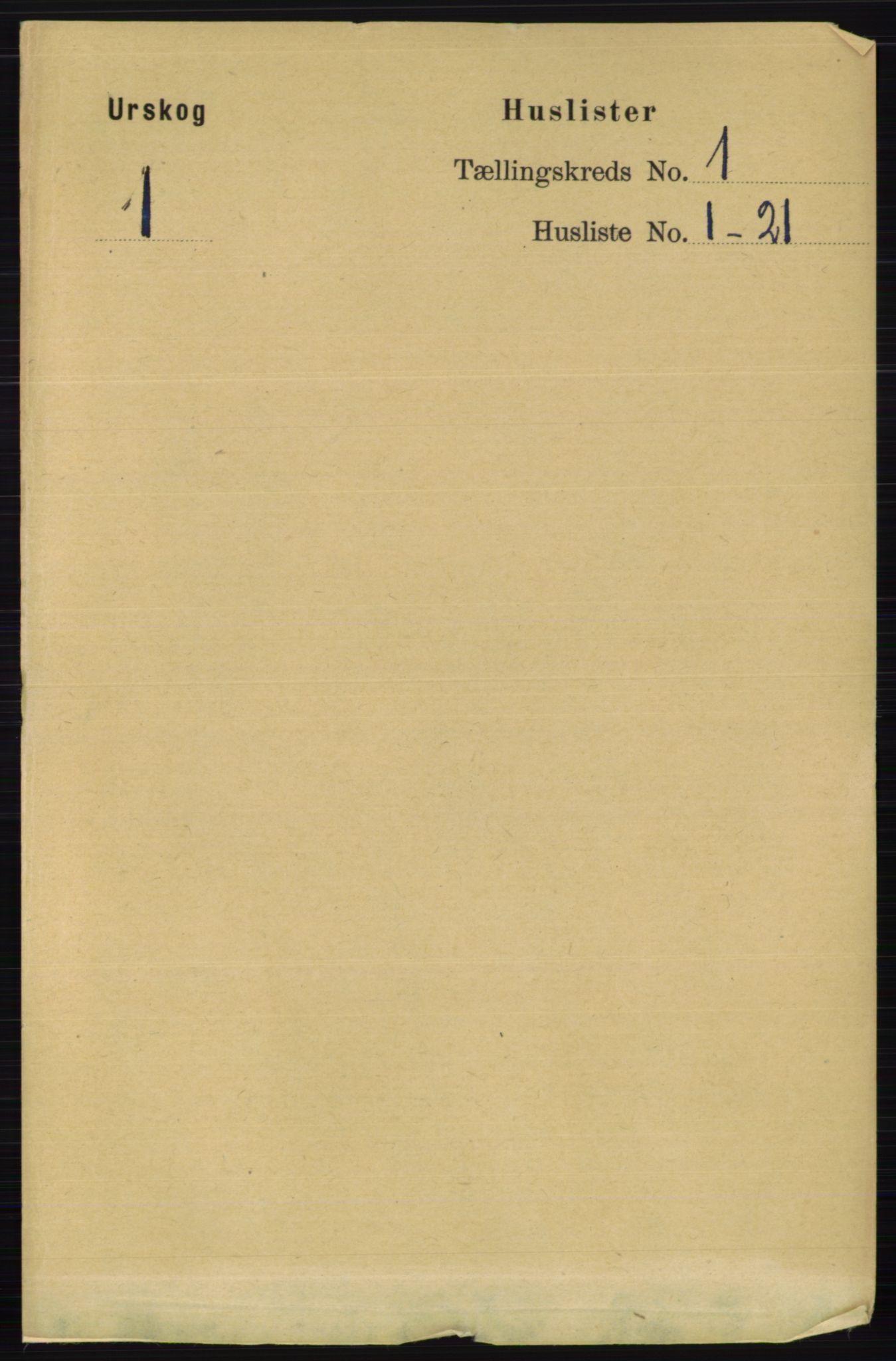 RA, Folketelling 1891 for 0224 Aurskog herred, 1891, s. 29