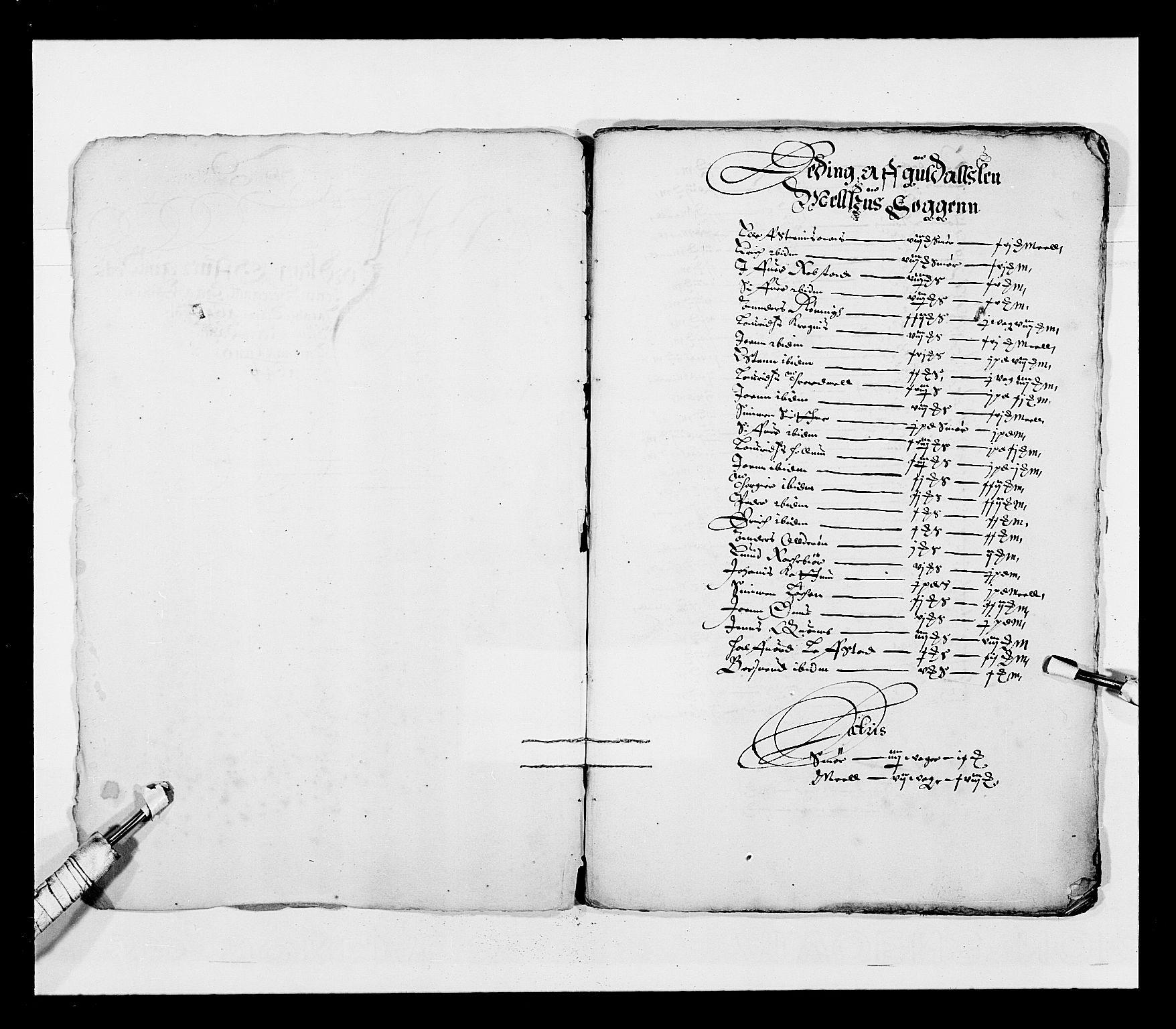RA, Stattholderembetet 1572-1771, Ek/L0028: Jordebøker 1633-1658:, 1645-1646, s. 208