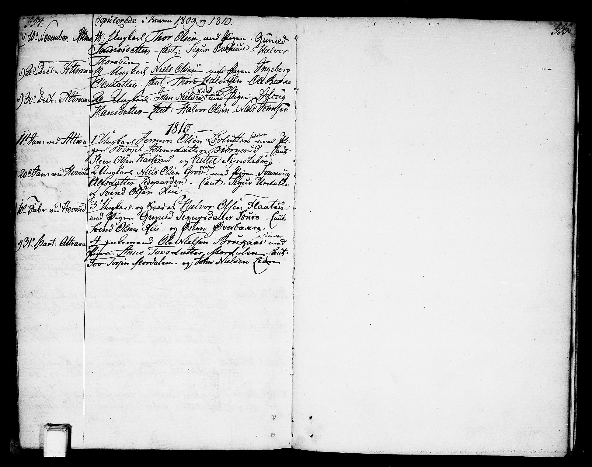 SAKO, Tinn kirkebøker, F/Fa/L0002: Ministerialbok nr. I 2, 1757-1810, s. 554-555