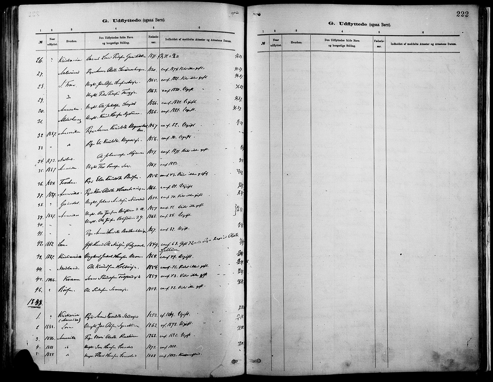 SAH, Vågå prestekontor, Ministerialbok nr. 9, 1886-1904, s. 222