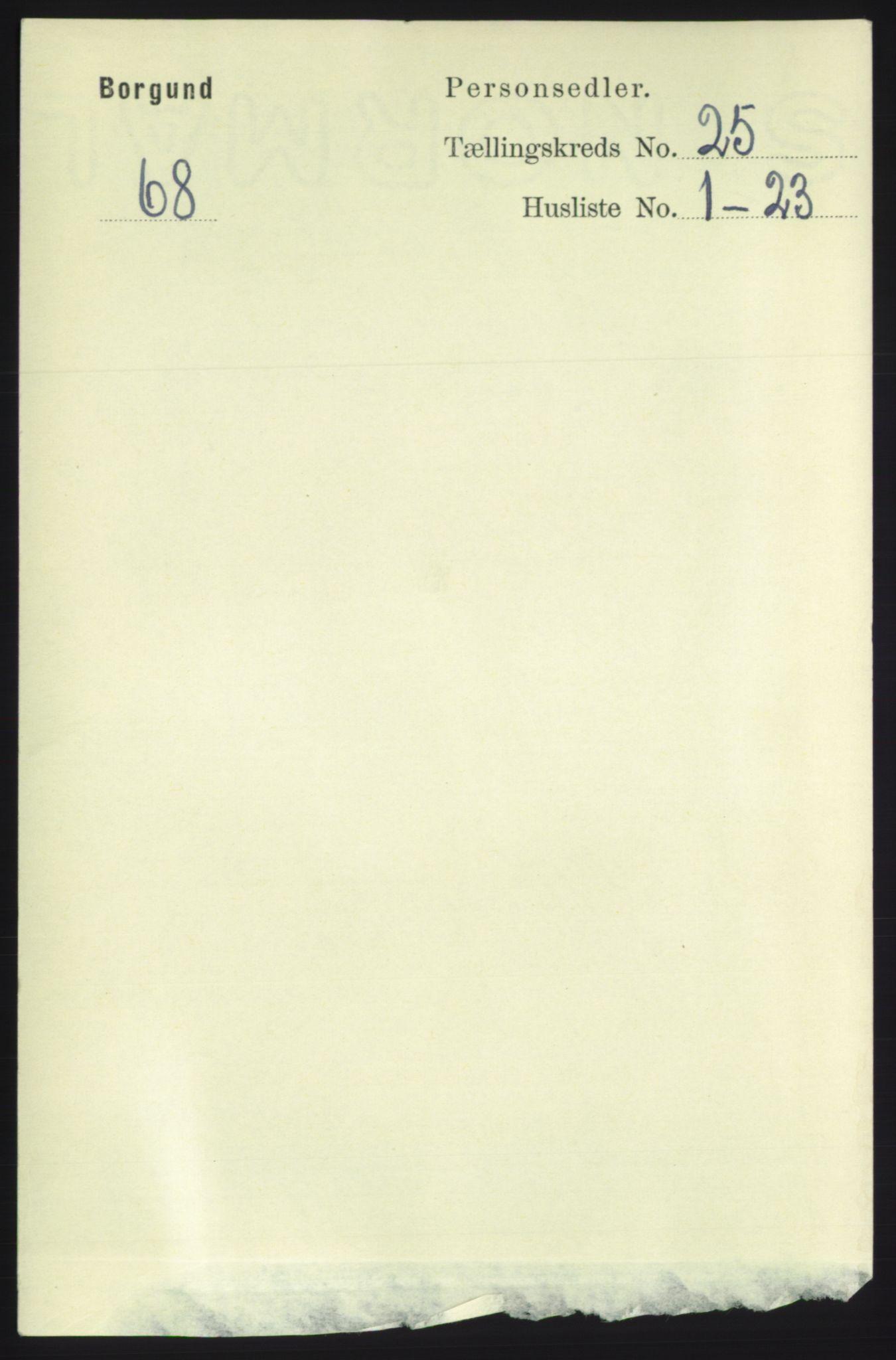 RA, Folketelling 1891 for 1531 Borgund herred, 1891, s. 7256