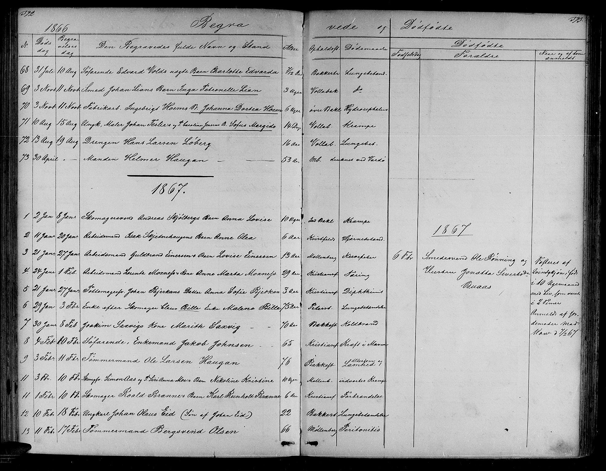 SAT, Ministerialprotokoller, klokkerbøker og fødselsregistre - Sør-Trøndelag, 604/L0219: Klokkerbok nr. 604C02, 1851-1869, s. 392-393