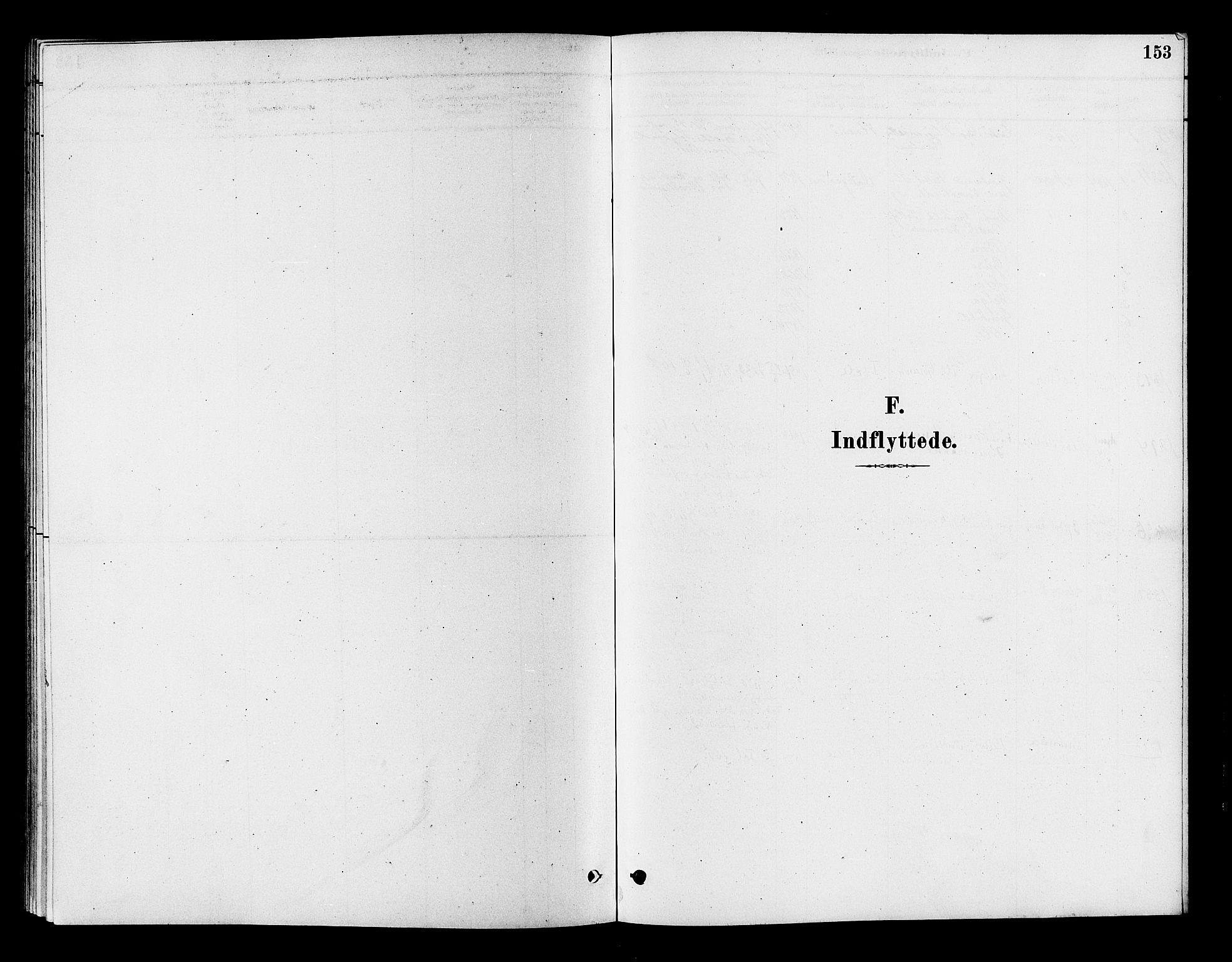 SAKO, Flesberg kirkebøker, F/Fc/L0001: Ministerialbok nr. III 1, 1879-1905, s. 153