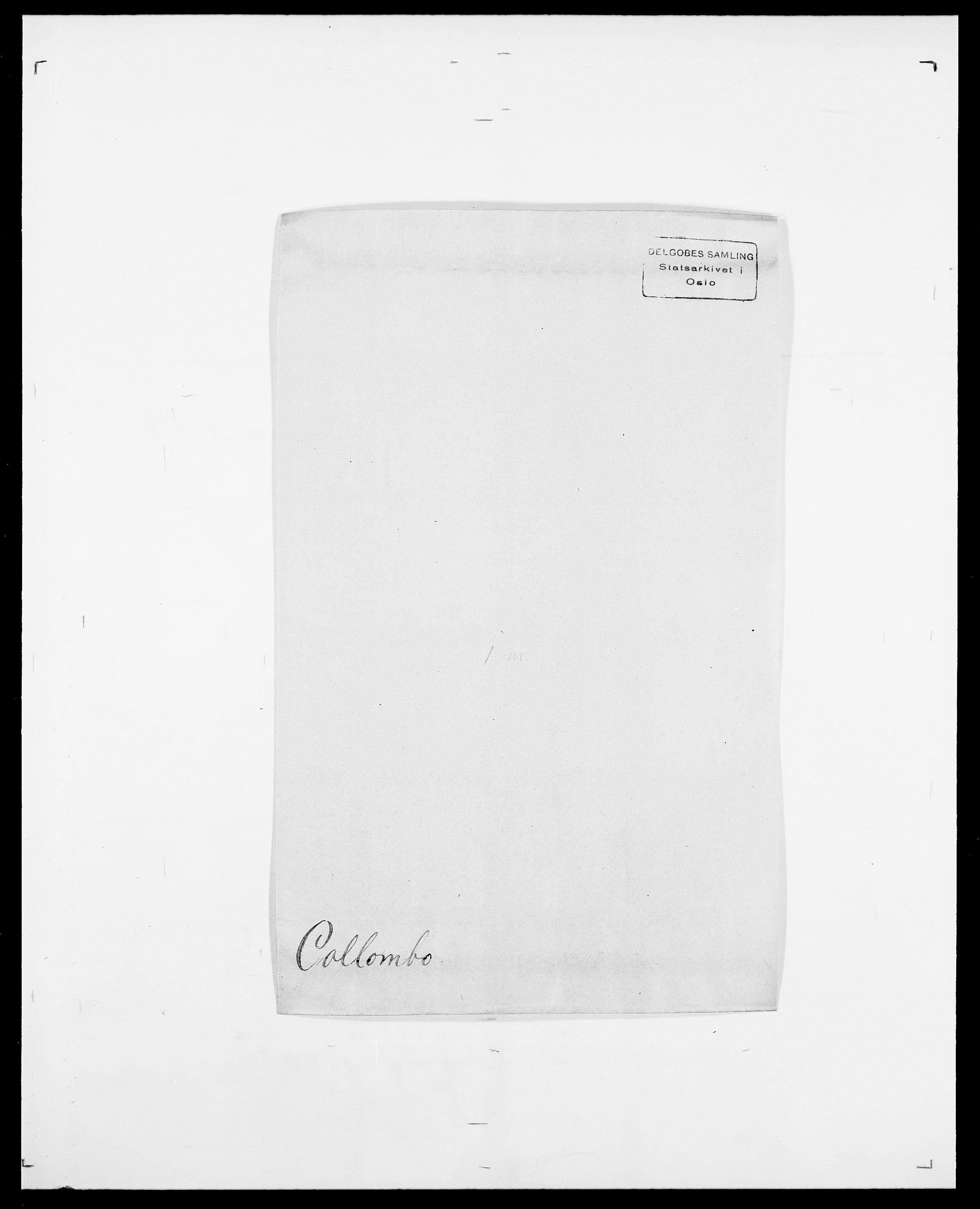 SAO, Delgobe, Charles Antoine - samling, D/Da/L0008: Capjon - Dagenbolt, s. 483