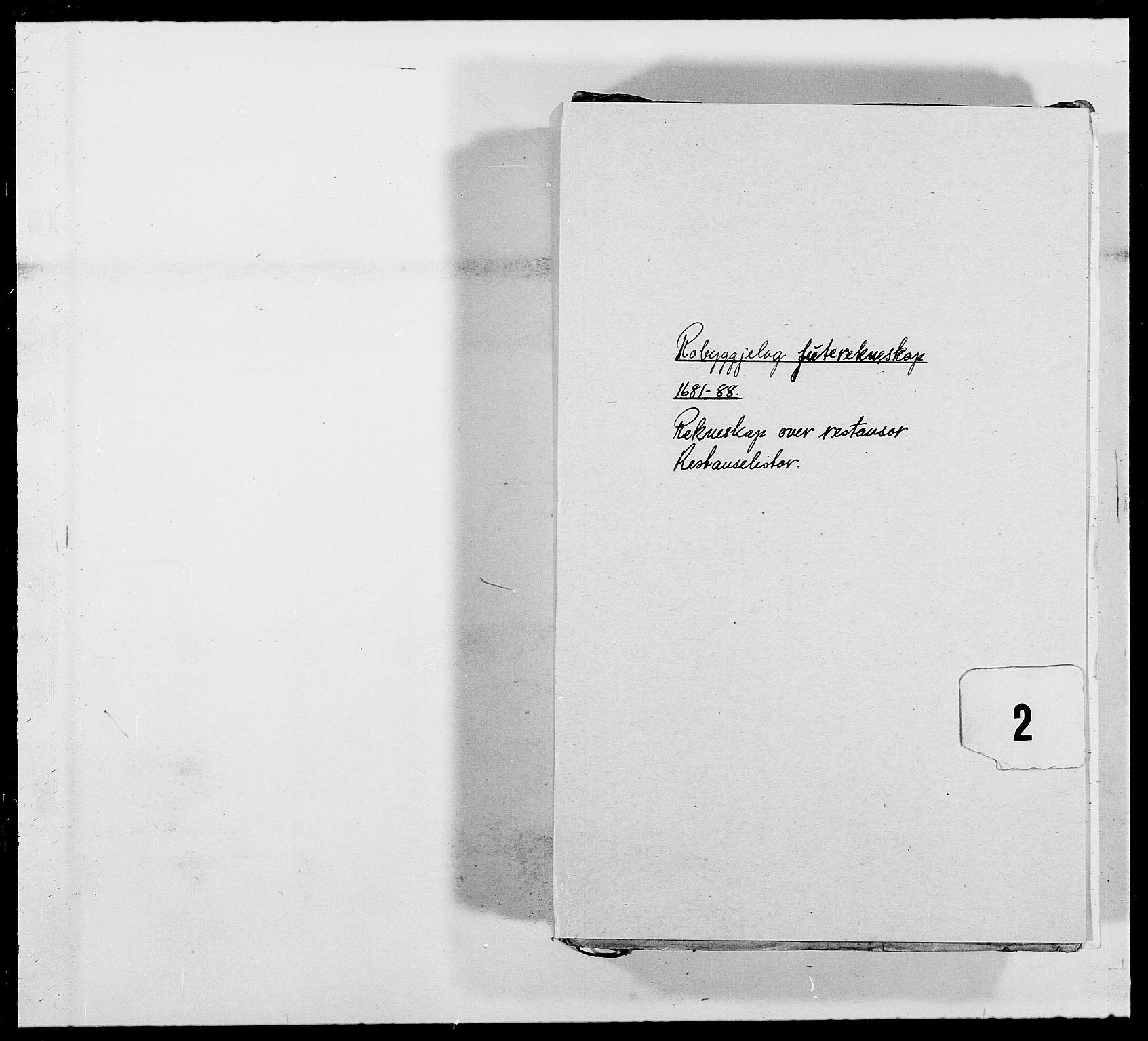 RA, Rentekammeret inntil 1814, Reviderte regnskaper, Fogderegnskap, R40/L2441: Fogderegnskap Råbyggelag, 1688, s. 110