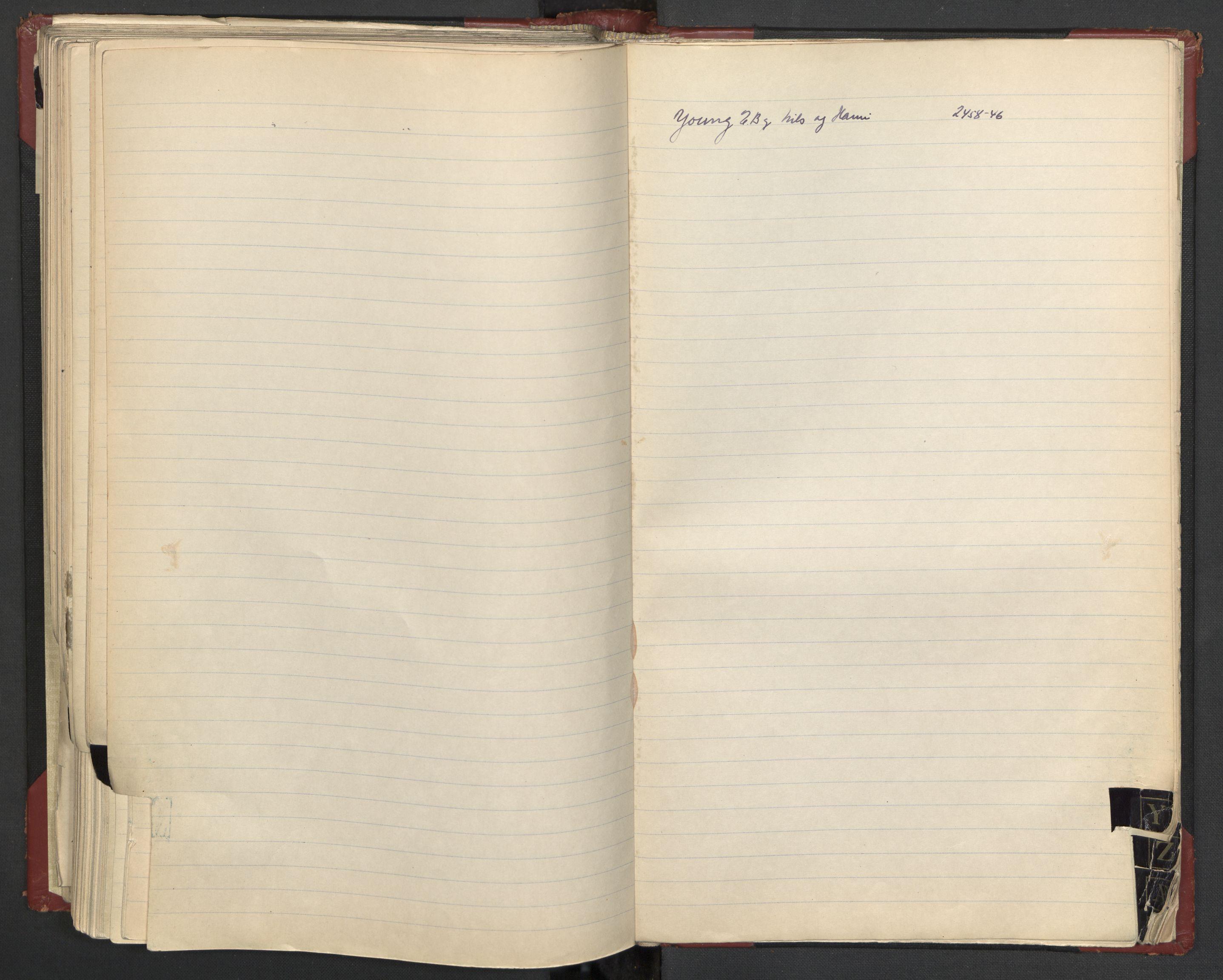RA, Justisdepartementet, 3. politikontor P3, C/Cc/L0002: Journalregister over statsborgersaker, 1940-1946, s. 110