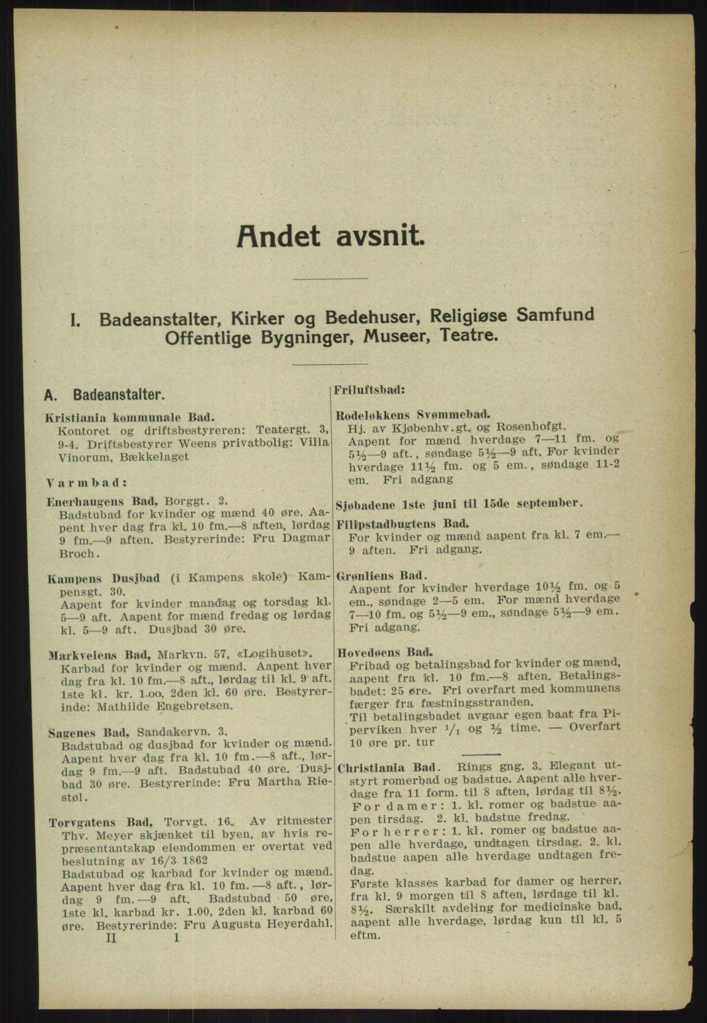 RA, Kristiania adressebok (publikasjon)*, 1918, s. 129