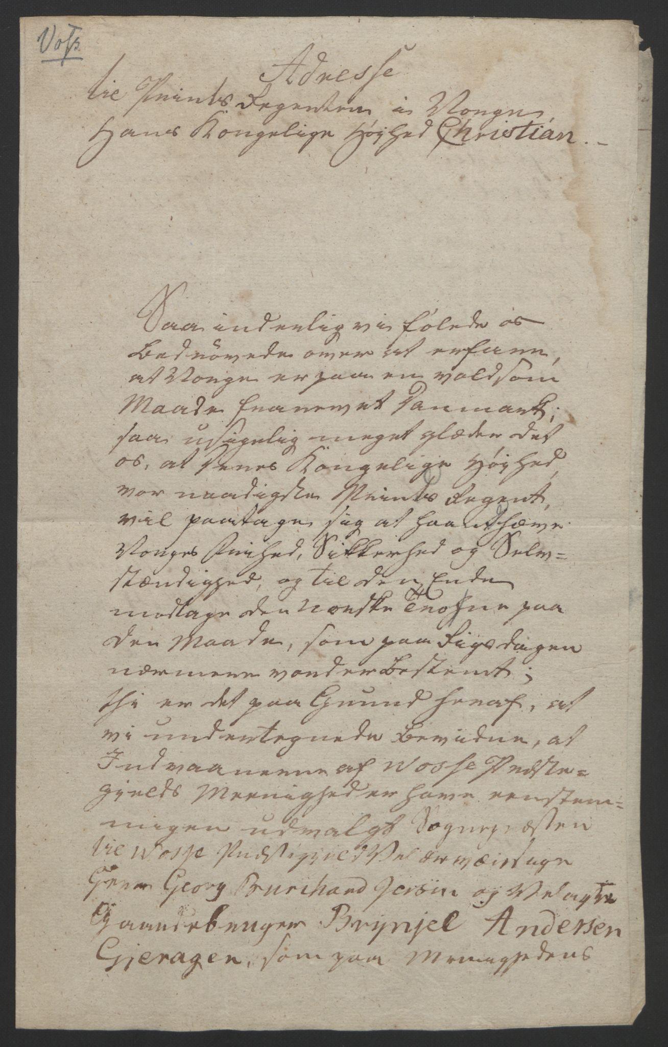 RA, Statsrådssekretariatet, D/Db/L0008: Fullmakter for Eidsvollsrepresentantene i 1814. , 1814, s. 305