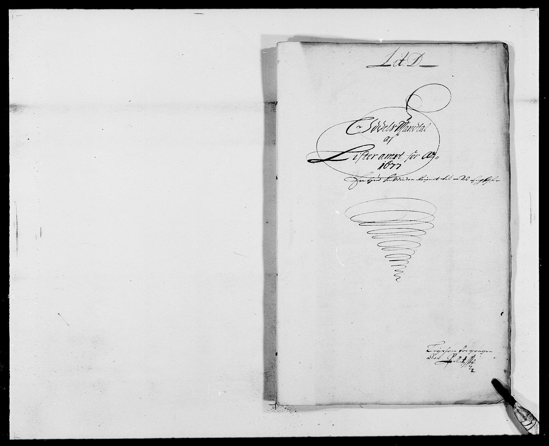 RA, Rentekammeret inntil 1814, Reviderte regnskaper, Fogderegnskap, R41/L2530: Fogderegnskap Lista, 1677-1679, s. 74
