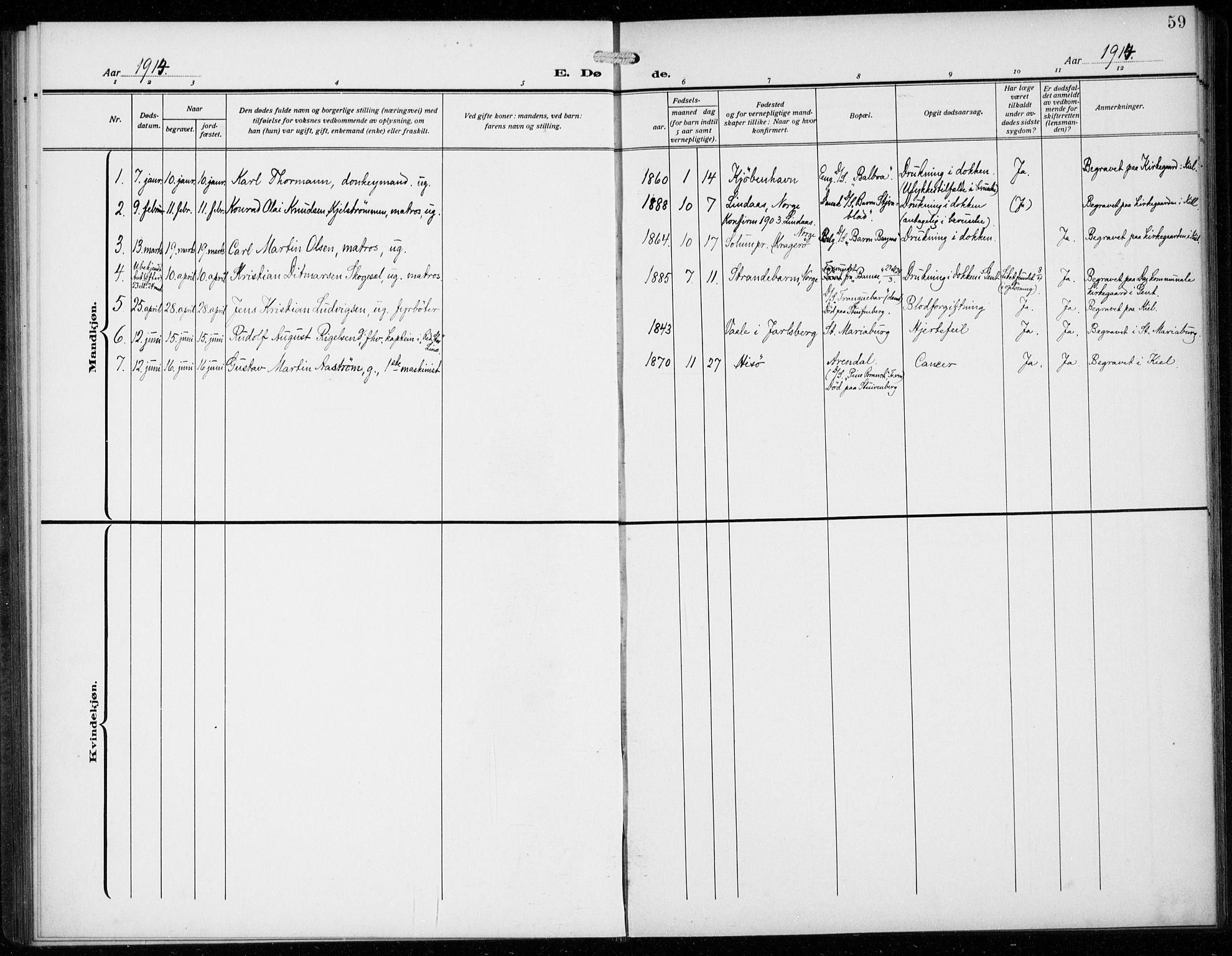 SAB, Den Norske Sjømannsmisjon i utlandet*, Ministerialbok nr. A 3, 1914-1930, s. 59