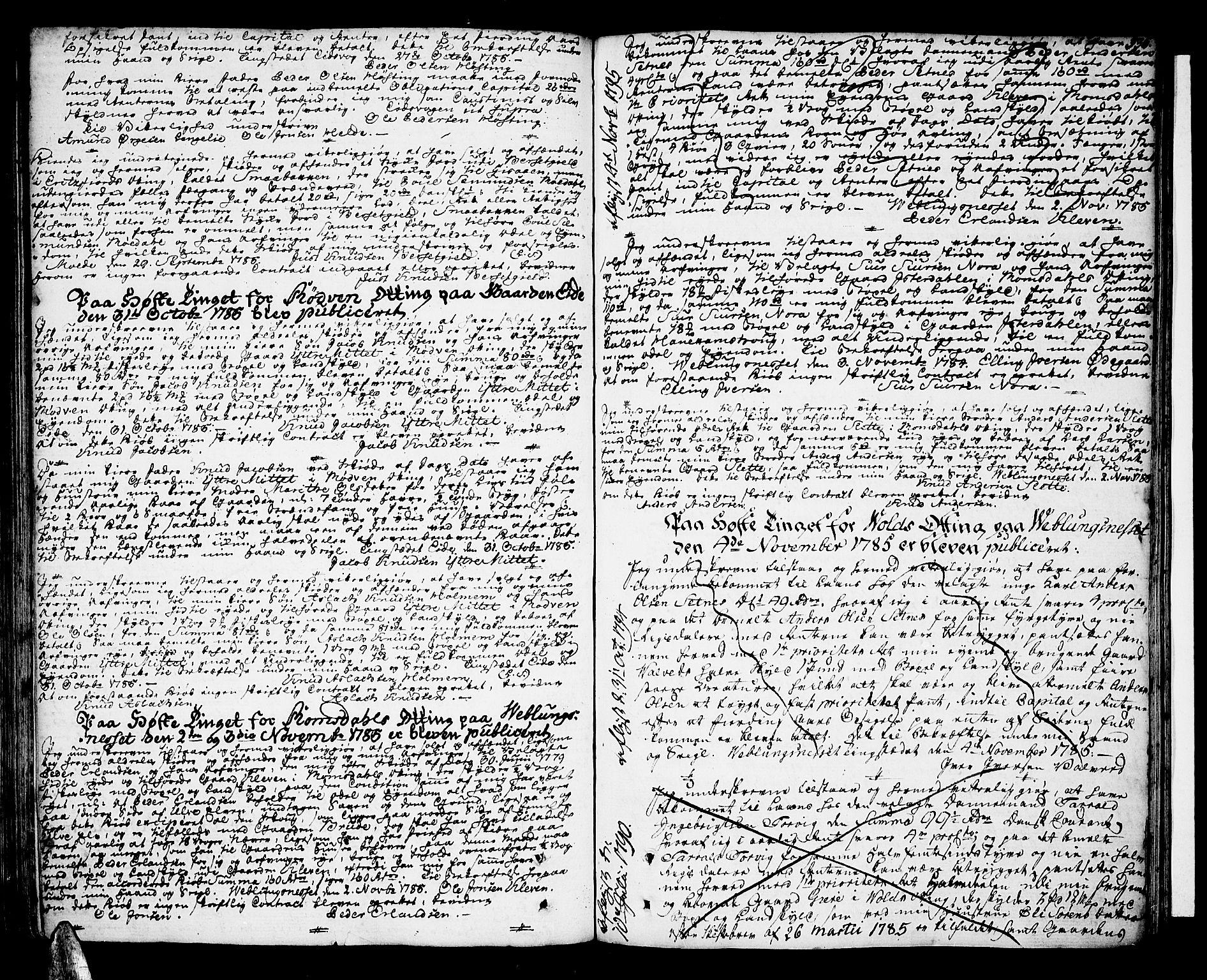 SAT, Romsdal sorenskriveri, 2/2C/L0004: Pantebok nr. 4, 1769-1790, s. 336