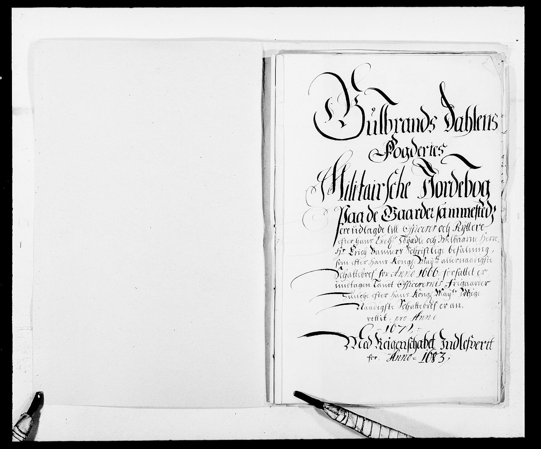 RA, Rentekammeret inntil 1814, Reviderte regnskaper, Fogderegnskap, R17/L1158: Fogderegnskap Gudbrandsdal, 1682-1689, s. 298