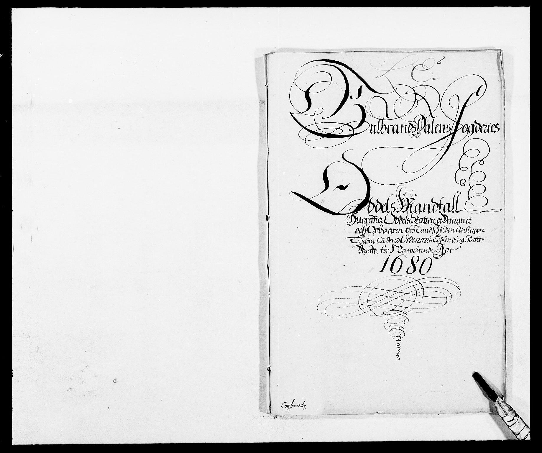 RA, Rentekammeret inntil 1814, Reviderte regnskaper, Fogderegnskap, R17/L1154: Fogderegnskap Gudbrandsdal, 1680, s. 338