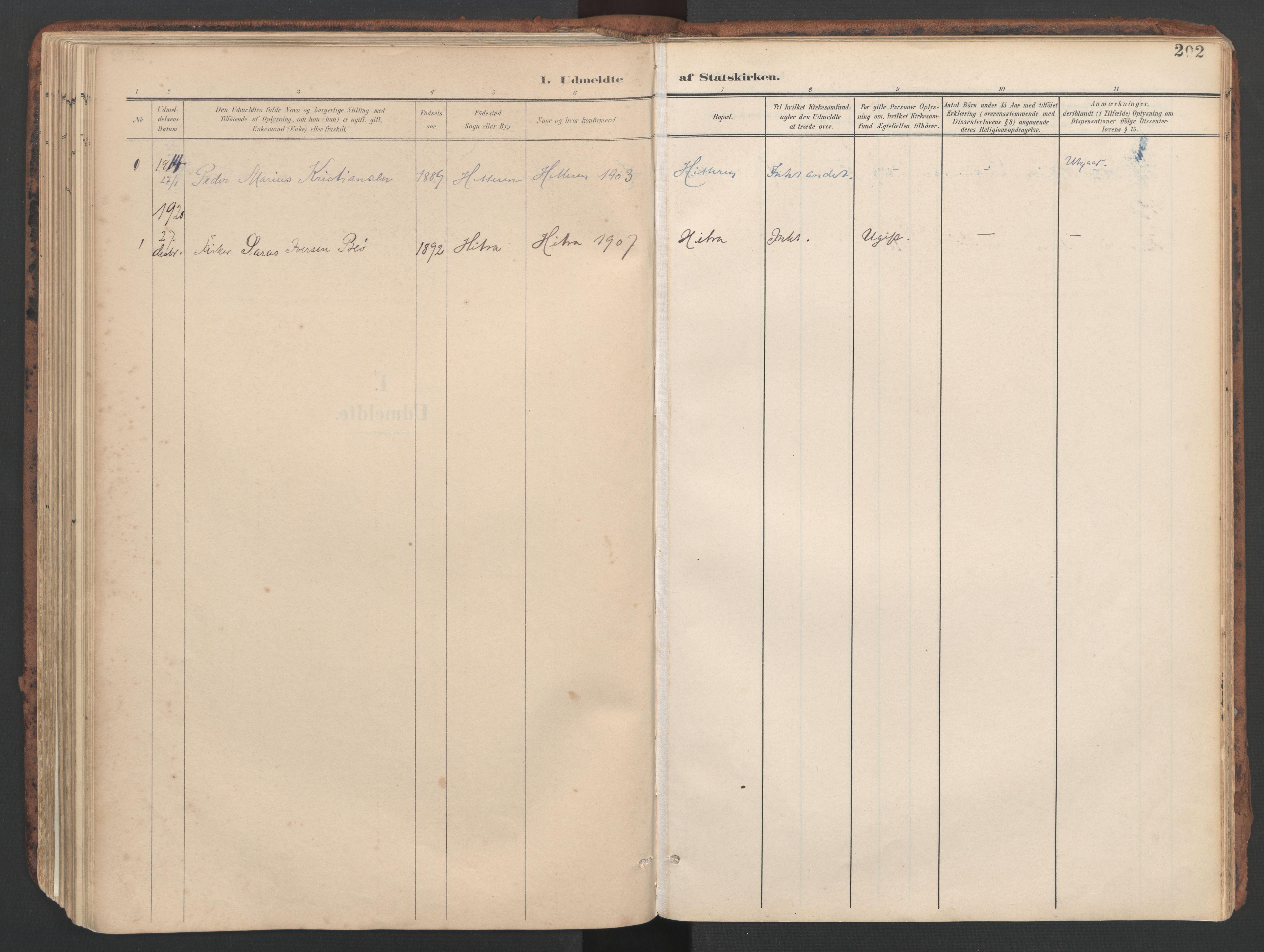 SAT, Ministerialprotokoller, klokkerbøker og fødselsregistre - Sør-Trøndelag, 634/L0537: Ministerialbok nr. 634A13, 1896-1922, s. 202