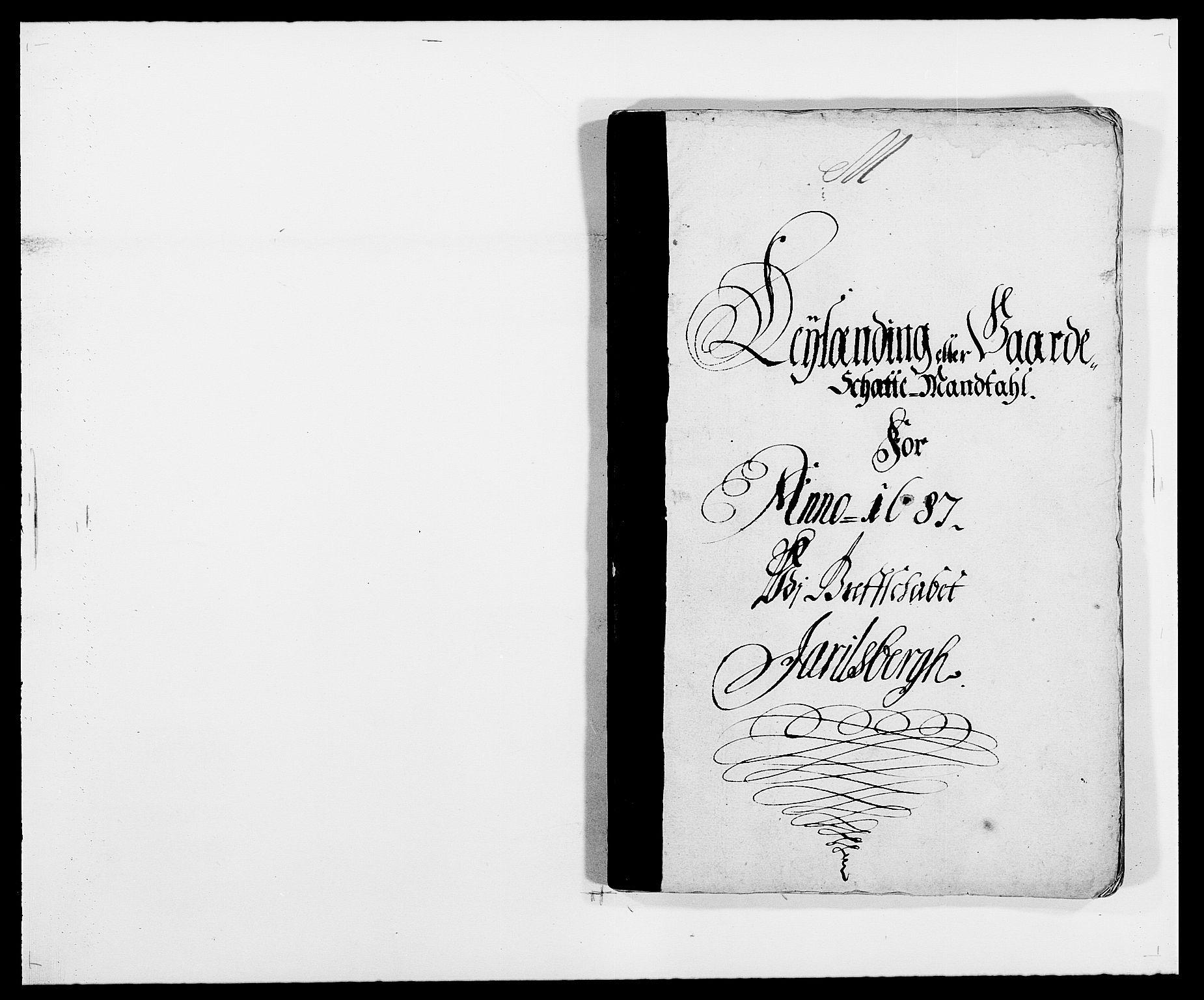 RA, Rentekammeret inntil 1814, Reviderte regnskaper, Fogderegnskap, R32/L1858: Fogderegnskap Jarlsberg grevskap, 1686-1690, s. 8