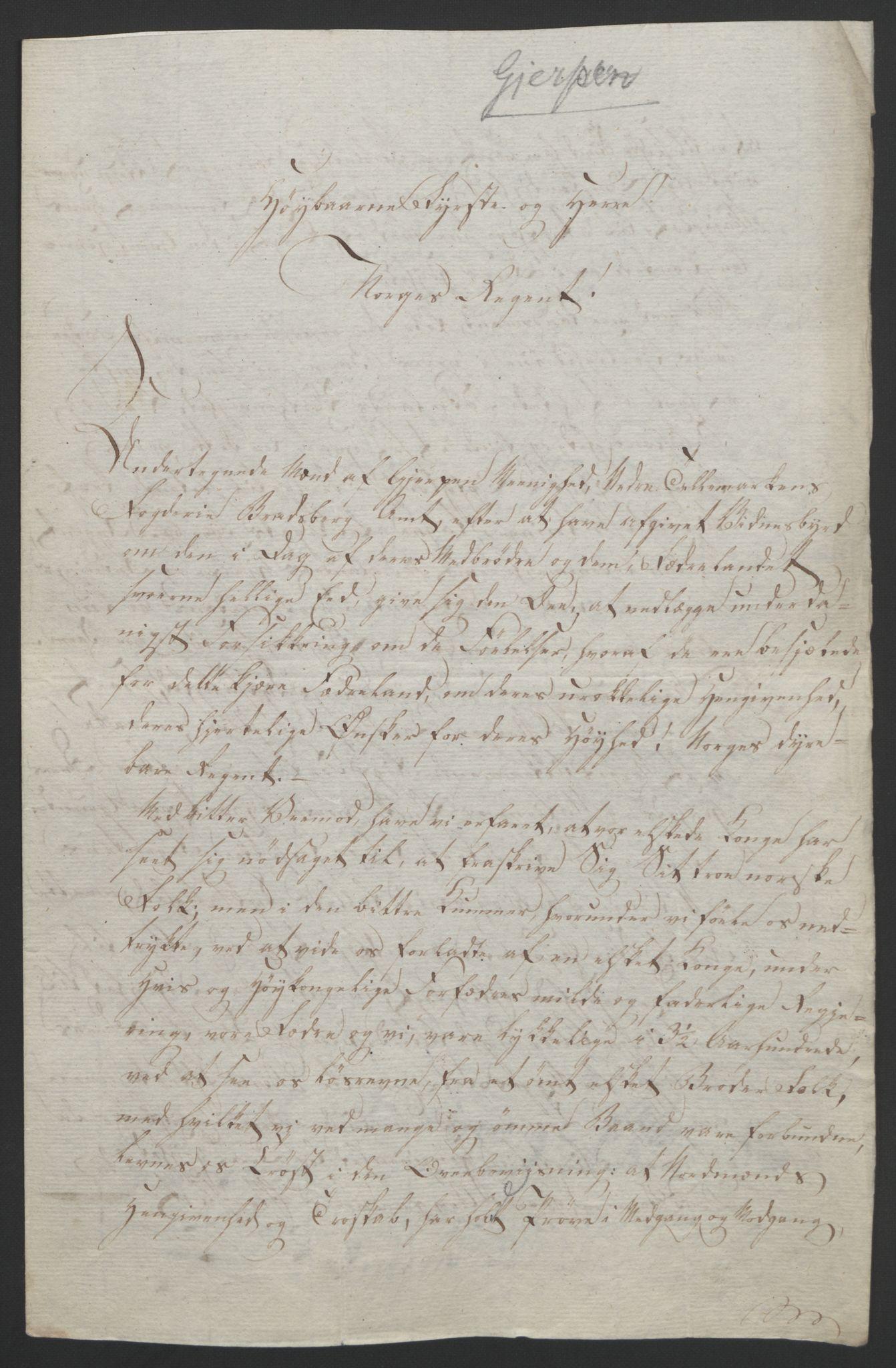 RA, Statsrådssekretariatet, D/Db/L0008: Fullmakter for Eidsvollsrepresentantene i 1814. , 1814, s. 46