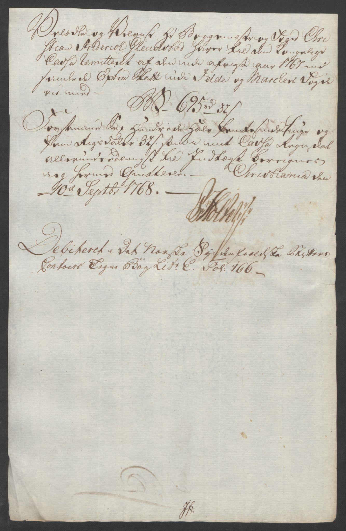 RA, Rentekammeret inntil 1814, Reviderte regnskaper, Fogderegnskap, R01/L0097: Ekstraskatten Idd og Marker, 1756-1767, s. 332