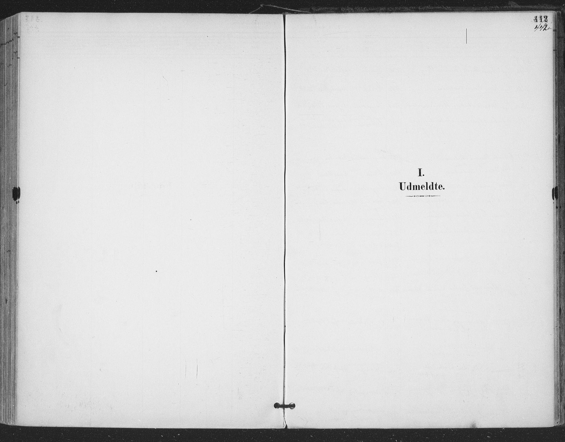 SAKO, Bamble kirkebøker, F/Fa/L0008: Ministerialbok nr. I 8, 1888-1900, s. 442