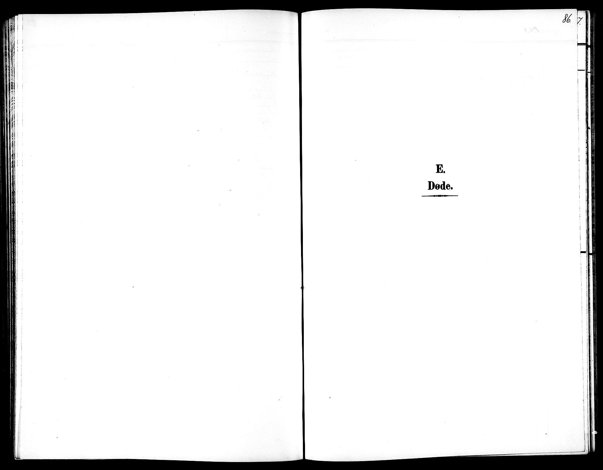SAT, Ministerialprotokoller, klokkerbøker og fødselsregistre - Sør-Trøndelag, 602/L0146: Klokkerbok nr. 602C14, 1904-1914, s. 86