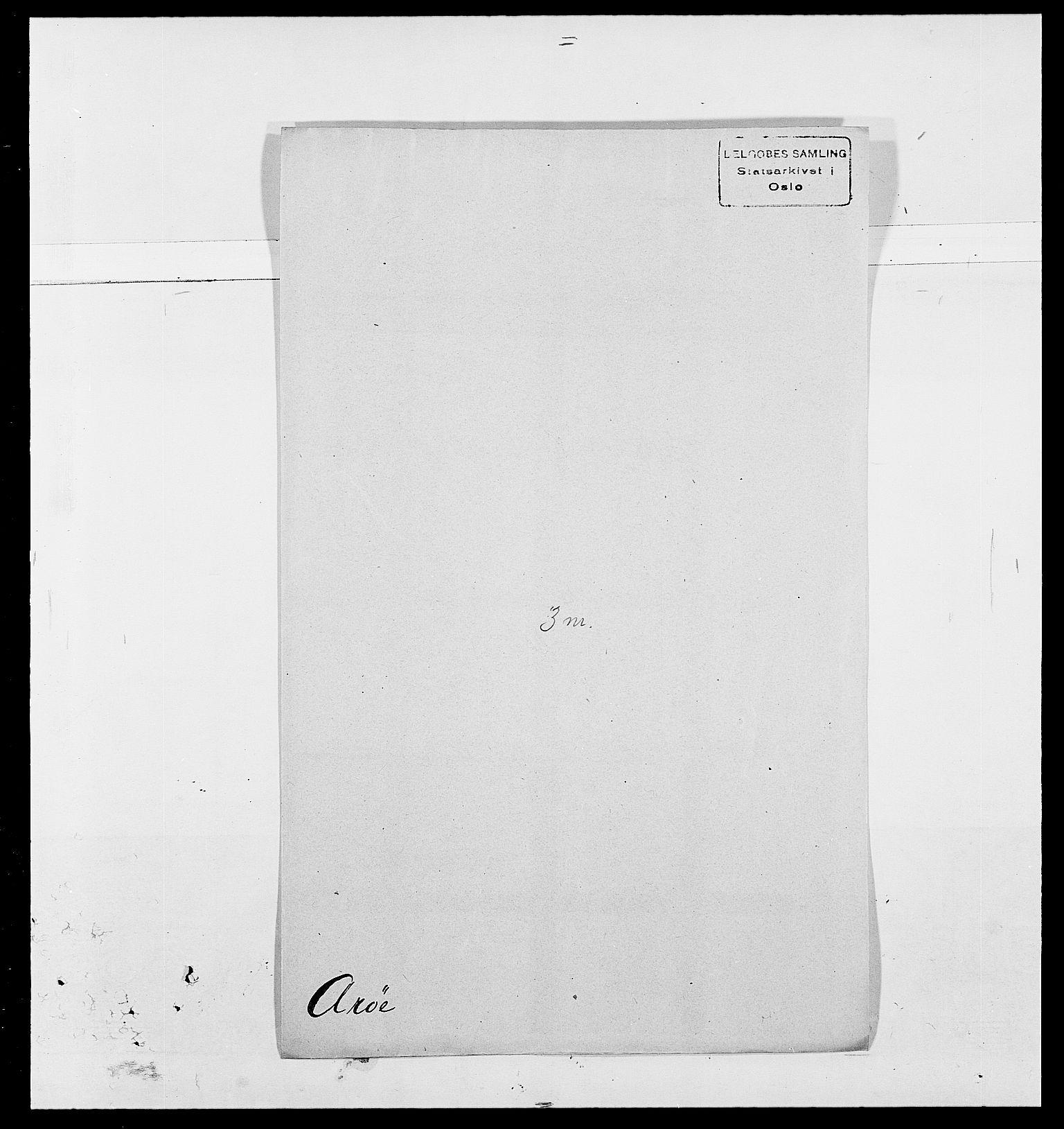 SAO, Delgobe, Charles Antoine - samling, D/Da/L0002: Anker, Ancher - Bauner, s. 390