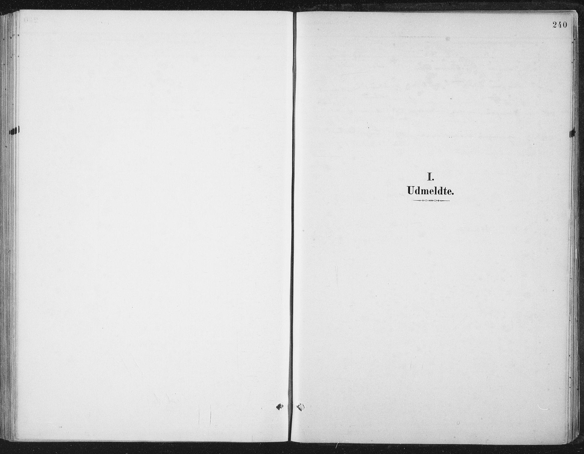 SAT, Ministerialprotokoller, klokkerbøker og fødselsregistre - Nord-Trøndelag, 784/L0673: Ministerialbok nr. 784A08, 1888-1899, s. 240