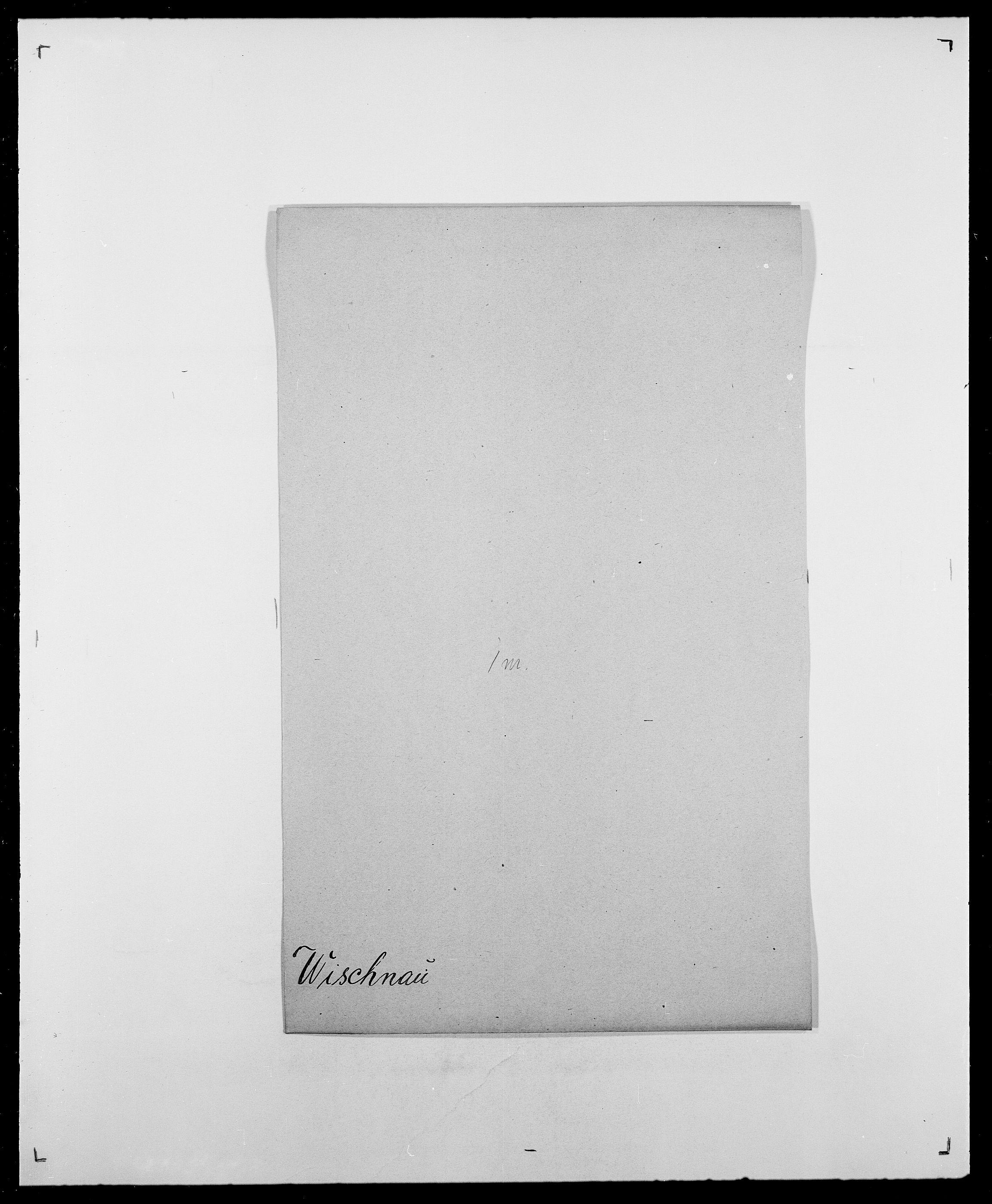 SAO, Delgobe, Charles Antoine - samling, D/Da/L0042: Vilain - Wulf, Wulff, se også Wolf, s. 382