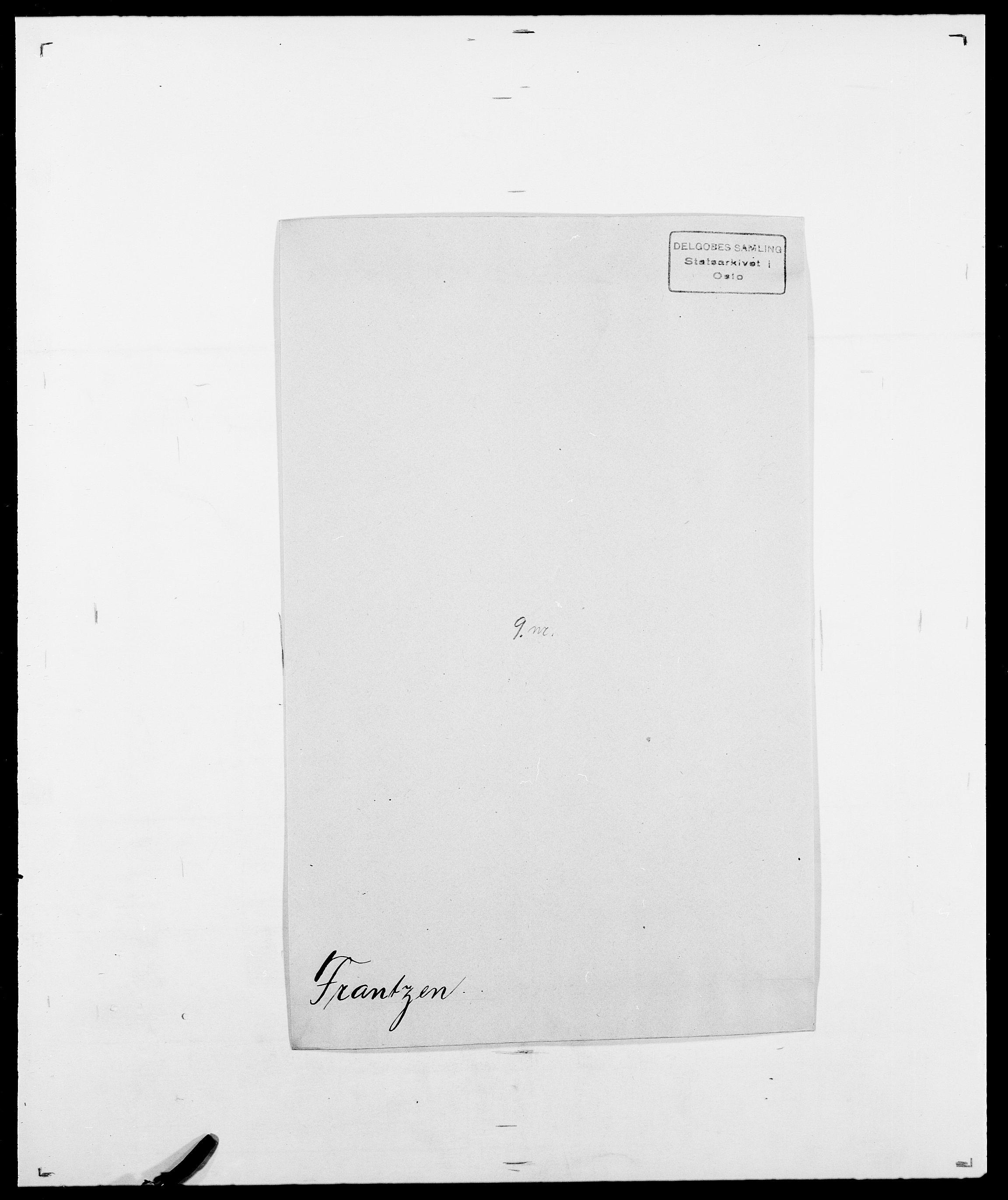 SAO, Delgobe, Charles Antoine - samling, D/Da/L0012: Flor, Floer, Flohr - Fritzner, s. 707