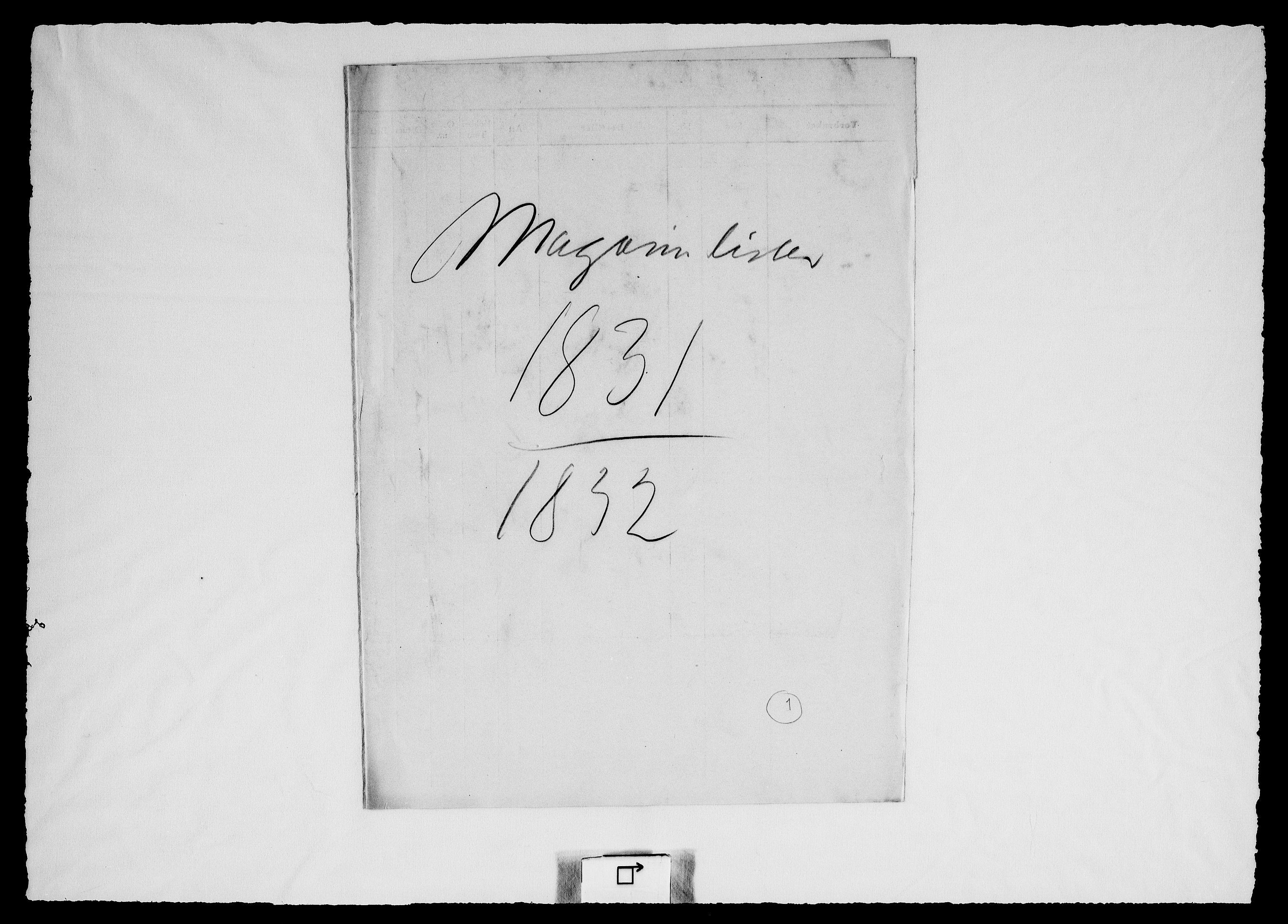 RA, Modums Blaafarveværk, G/Gd/Gdd/L0303, 1831-1836, s. 2