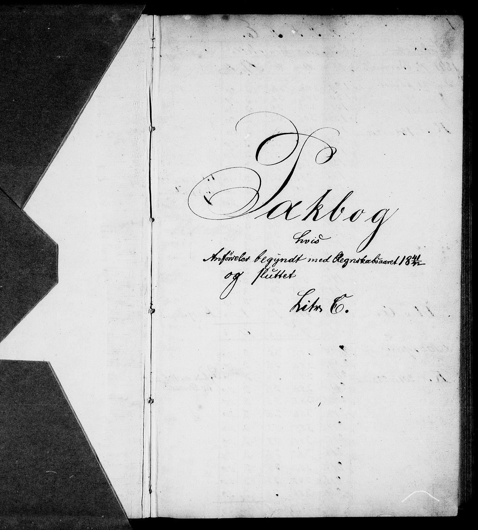 RA, Modums Blaafarveværk, G/Gd/Gda/L0185, 1841-1852, s. 2