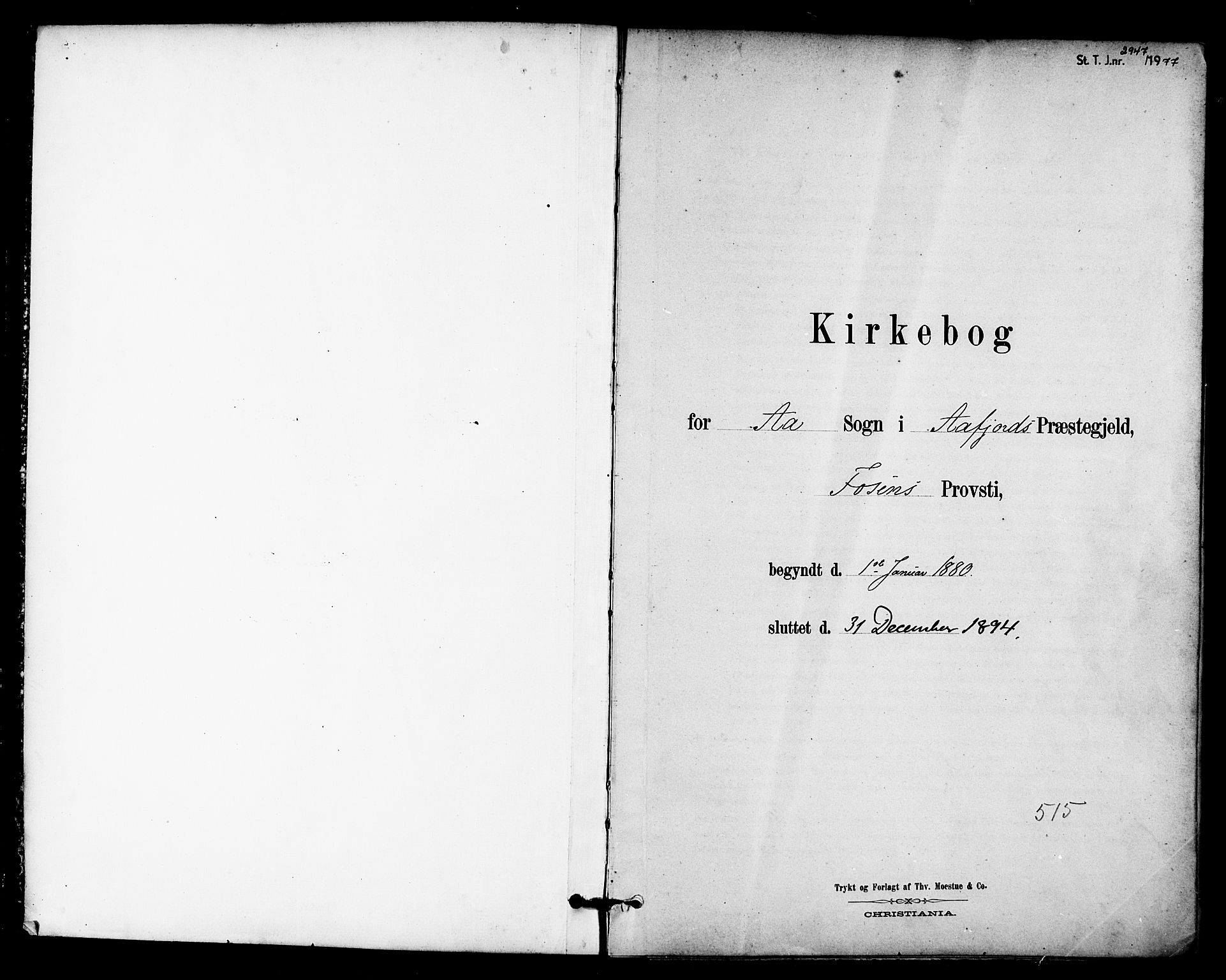 SAT, Ministerialprotokoller, klokkerbøker og fødselsregistre - Sør-Trøndelag, 655/L0680: Ministerialbok nr. 655A09, 1880-1894