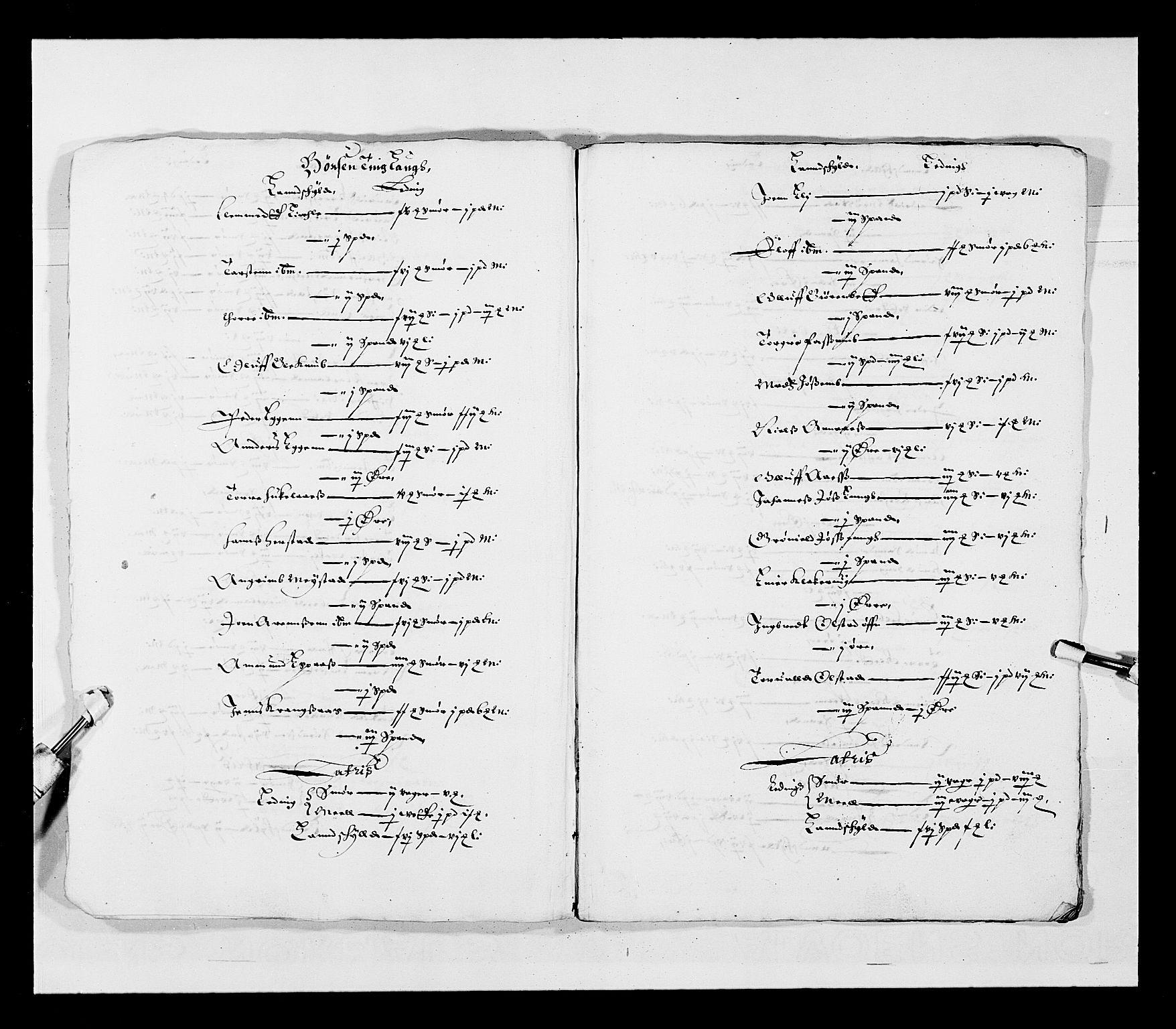 RA, Stattholderembetet 1572-1771, Ek/L0028: Jordebøker 1633-1658:, 1645-1646, s. 167