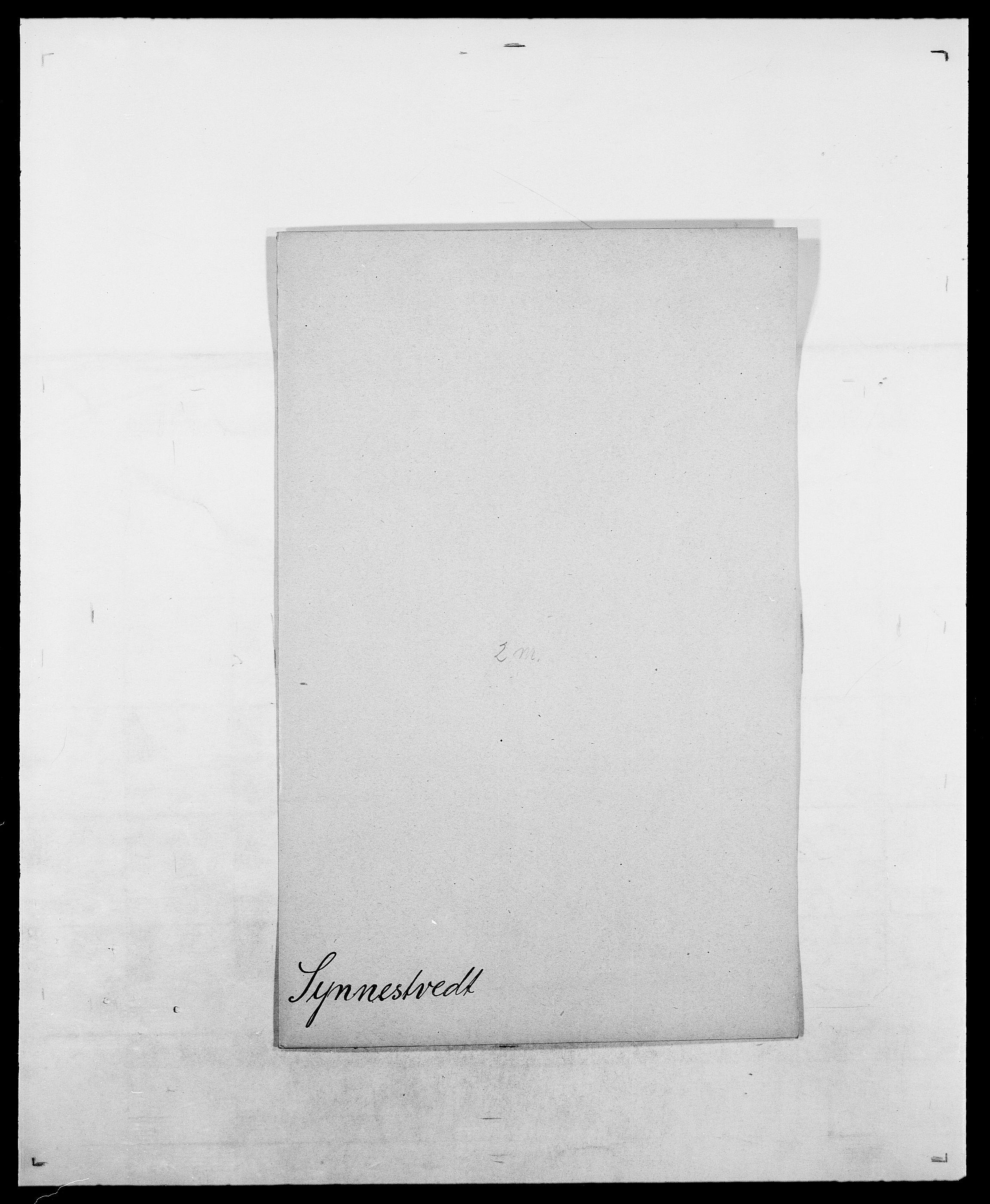 SAO, Delgobe, Charles Antoine - samling, D/Da/L0038: Svanenskjold - Thornsohn, s. 101